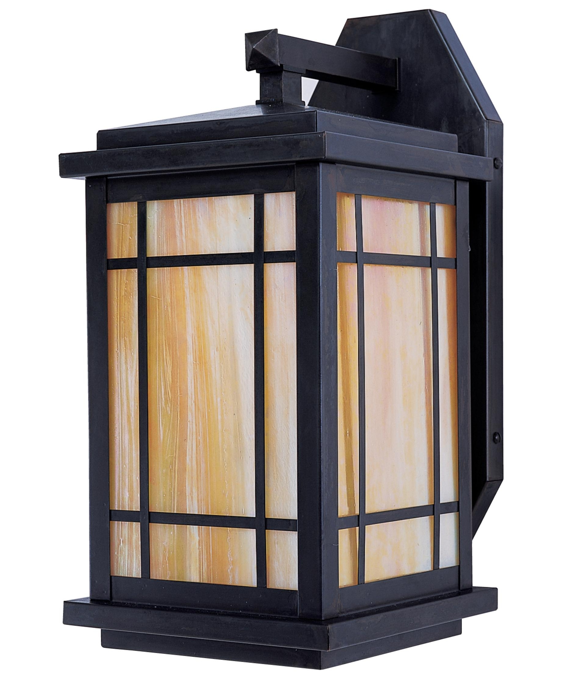 Most Up To Date Craftsman Outdoor Wall Lighting With Regard To Arroyo Craftsman Avb 8 Avenue 8 Inch Wide 1 Light Outdoor Wall Light (View 18 of 20)