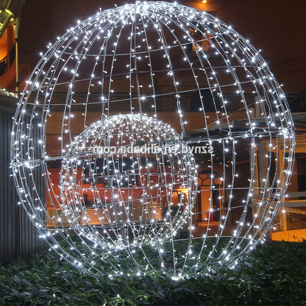 Most Up To Date Diy : Giant Lighted Christmas Balls How Hang Them Tree Maxresdefault Intended For Hanging Lights On Large Outdoor Tree (View 17 of 20)