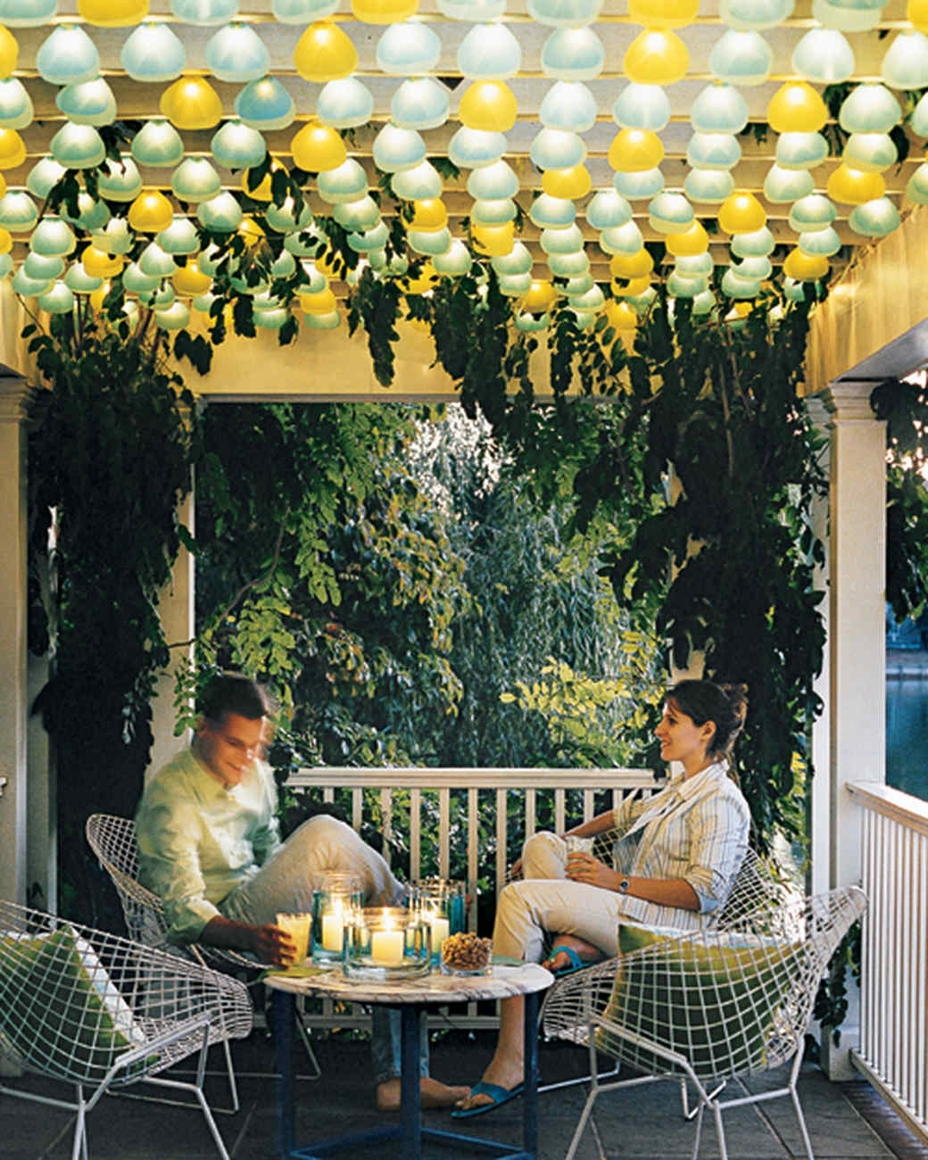 Most Up To Date Diy : Outdoor Lighting Ideas Martha Stewart Paper Lantern Party Throughout Outdoor Hanging Paper Lanterns (View 18 of 20)
