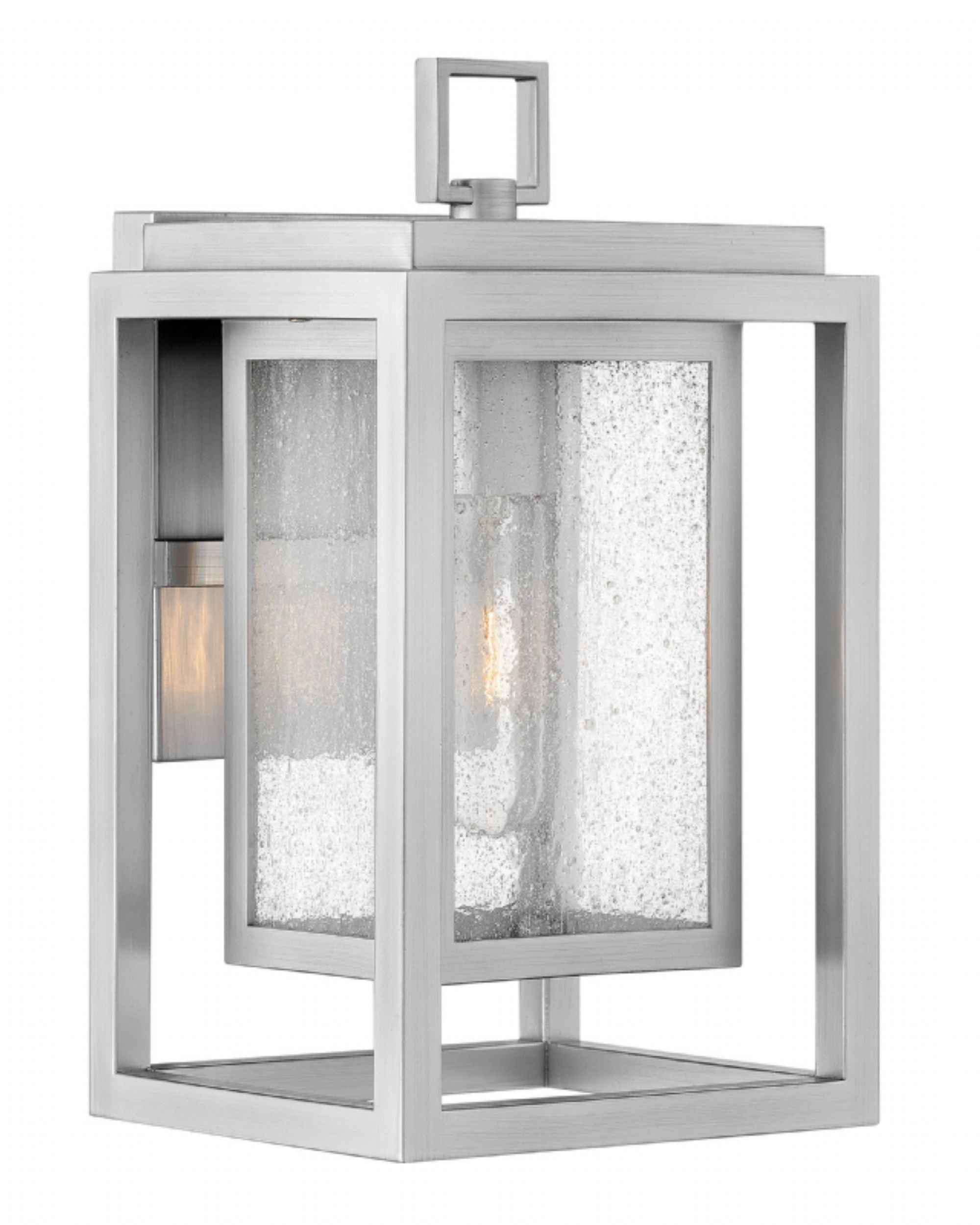 Most Up To Date Double Wall Mount Hinkley Lighting Throughout Satin Nickel Republic > Exterior Wall Mount (View 14 of 20)