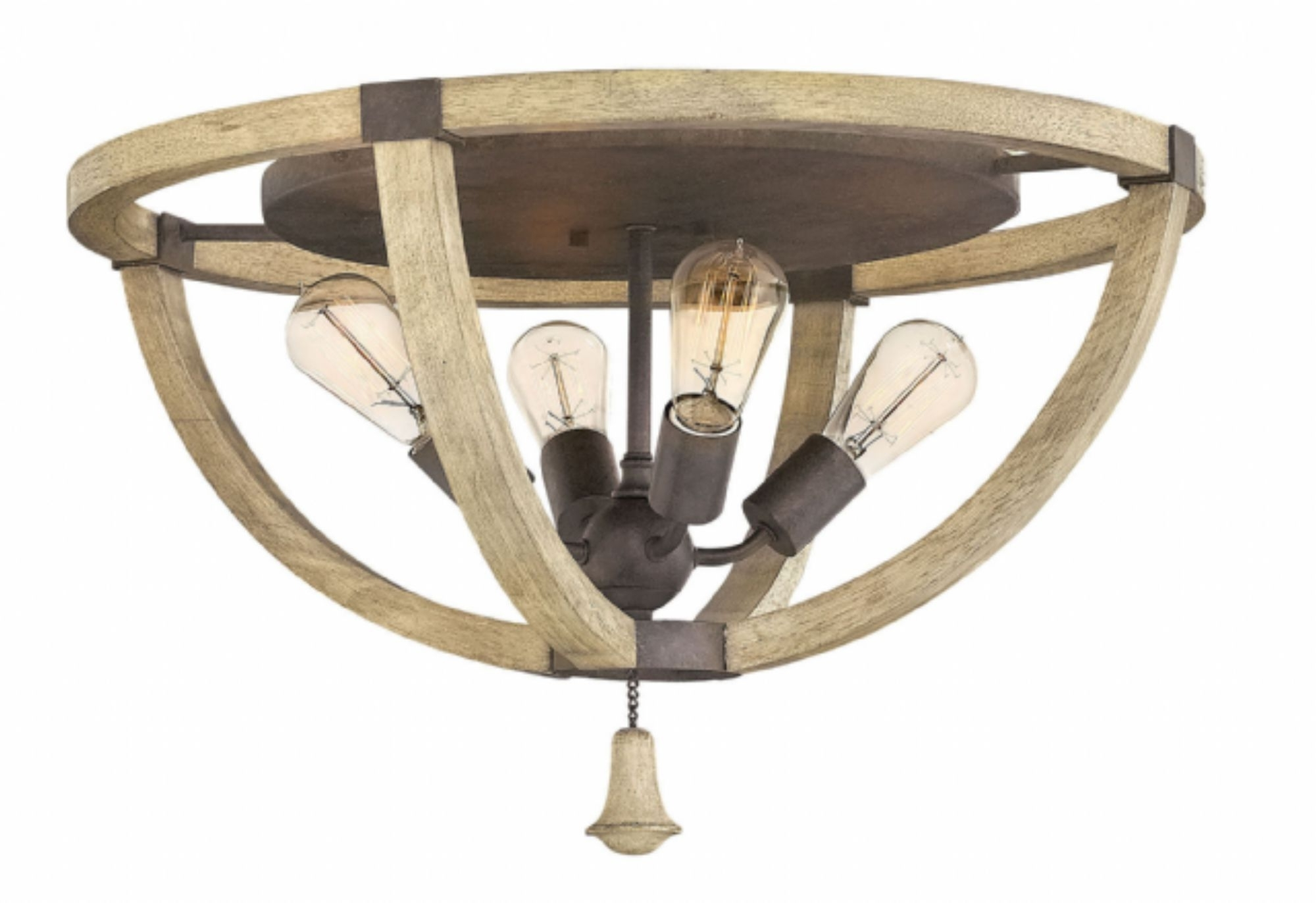 Most Up To Date Flush Mount Hinkley Lighting Pertaining To Iron Rust* Middlefield > Interior Ceiling Mount (View 17 of 20)