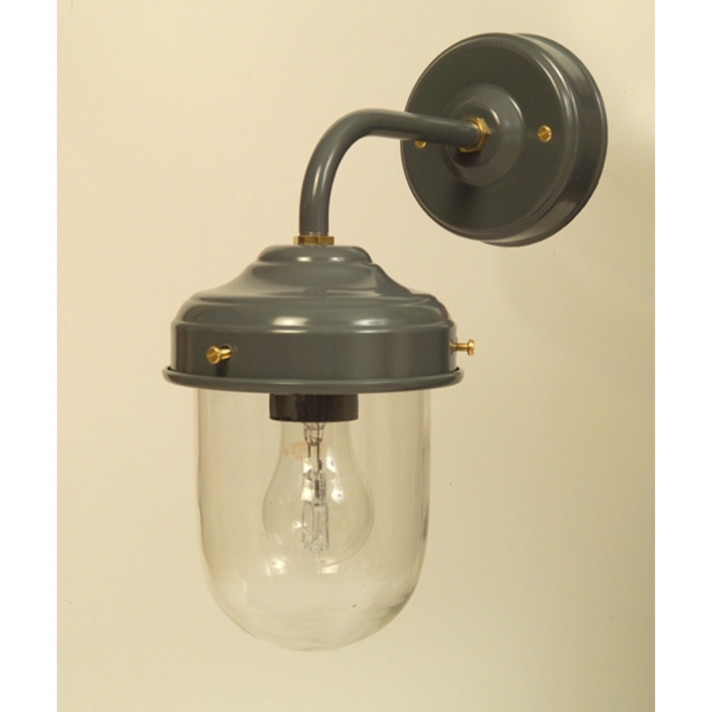 Most Up To Date Grey Stable Barn Outdoor Wall Light With Regard To Grey Outdoor Wall Lights (View 13 of 20)