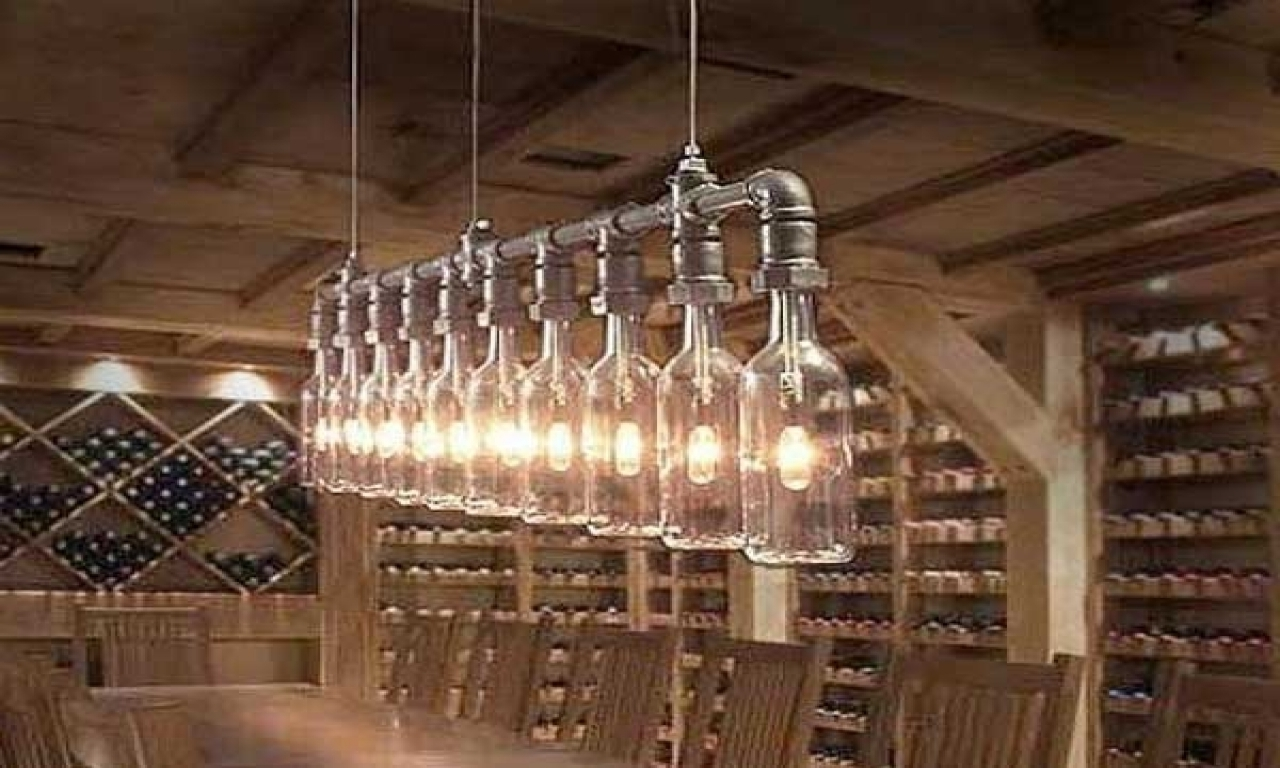 Most Up To Date Homemade Light Fixtures Light Fixtures Easy Diy Light Fixtures In With Regard To Diy Outdoor Hanging Lights (View 15 of 20)