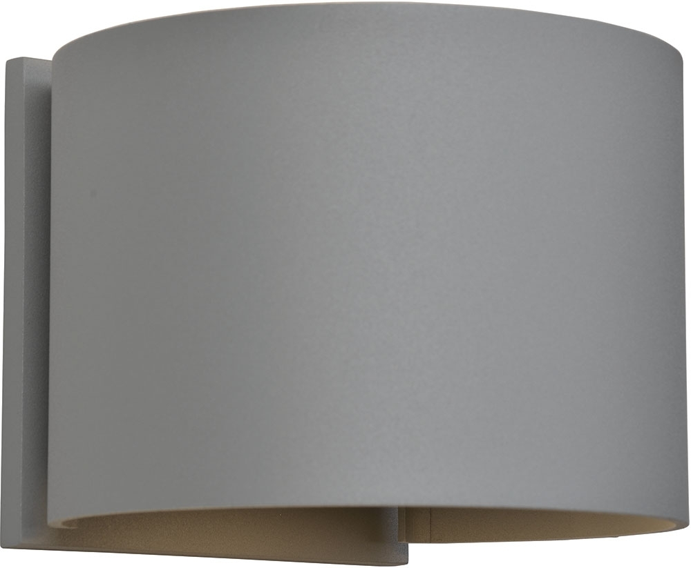Most Up To Date Marine Grade Outdoor Wall Lights Pertaining To Access 20399ledmgrnd Sat Curve Contemporary Marine Grade Satin (View 2 of 20)
