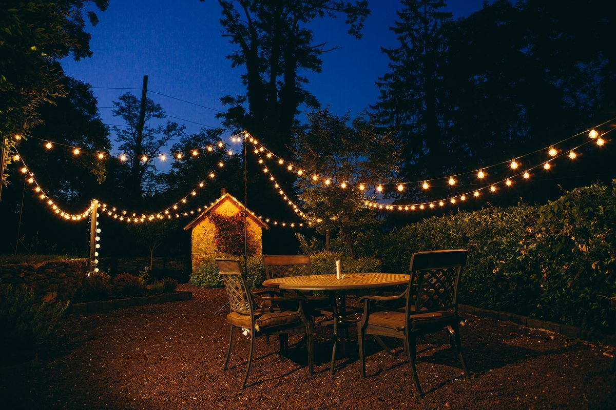Most Up To Date Outdoor And Garden String Lights At Wayfair With Regard To Hometownevolutioninc 50 Light 50 Ft (View 9 of 20)
