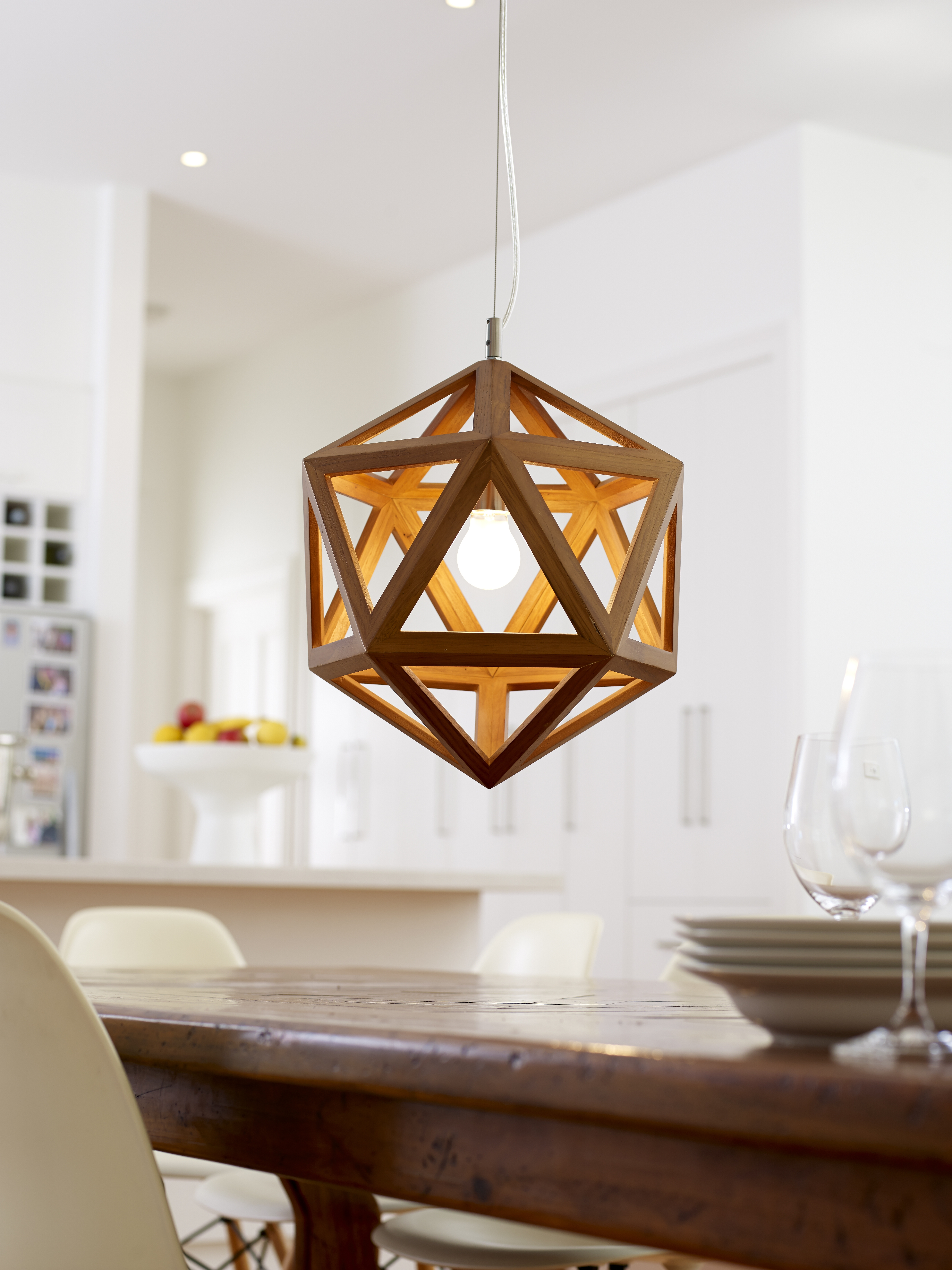 Most Up To Date Outdoor Ceiling Lights At Bunnings Inside Sakura Pendant Lamp – Rouge Living (View 4 of 20)