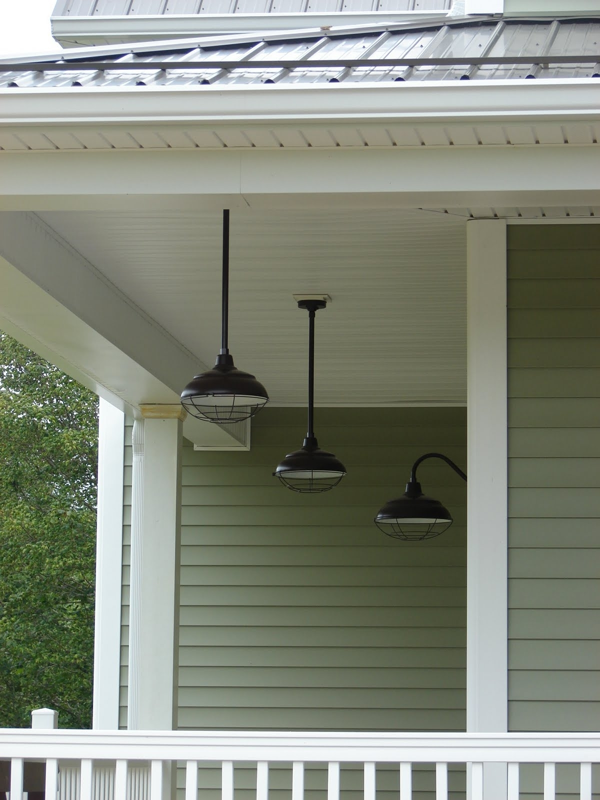 Most Up To Date Outdoor Front Porch Ceiling Lights Intended For Hanging Porch Lights Pictures (View 8 of 20)