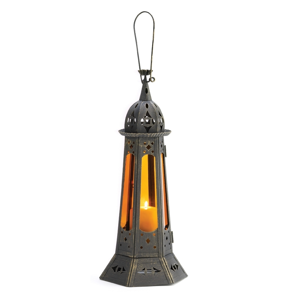 Most Up To Date Outdoor Hanging Candle Lanterns At Wholesale Intended For Wholesale Moroccan Tower Candle Lantern – Buy Wholesale Lanterns (View 9 of 20)