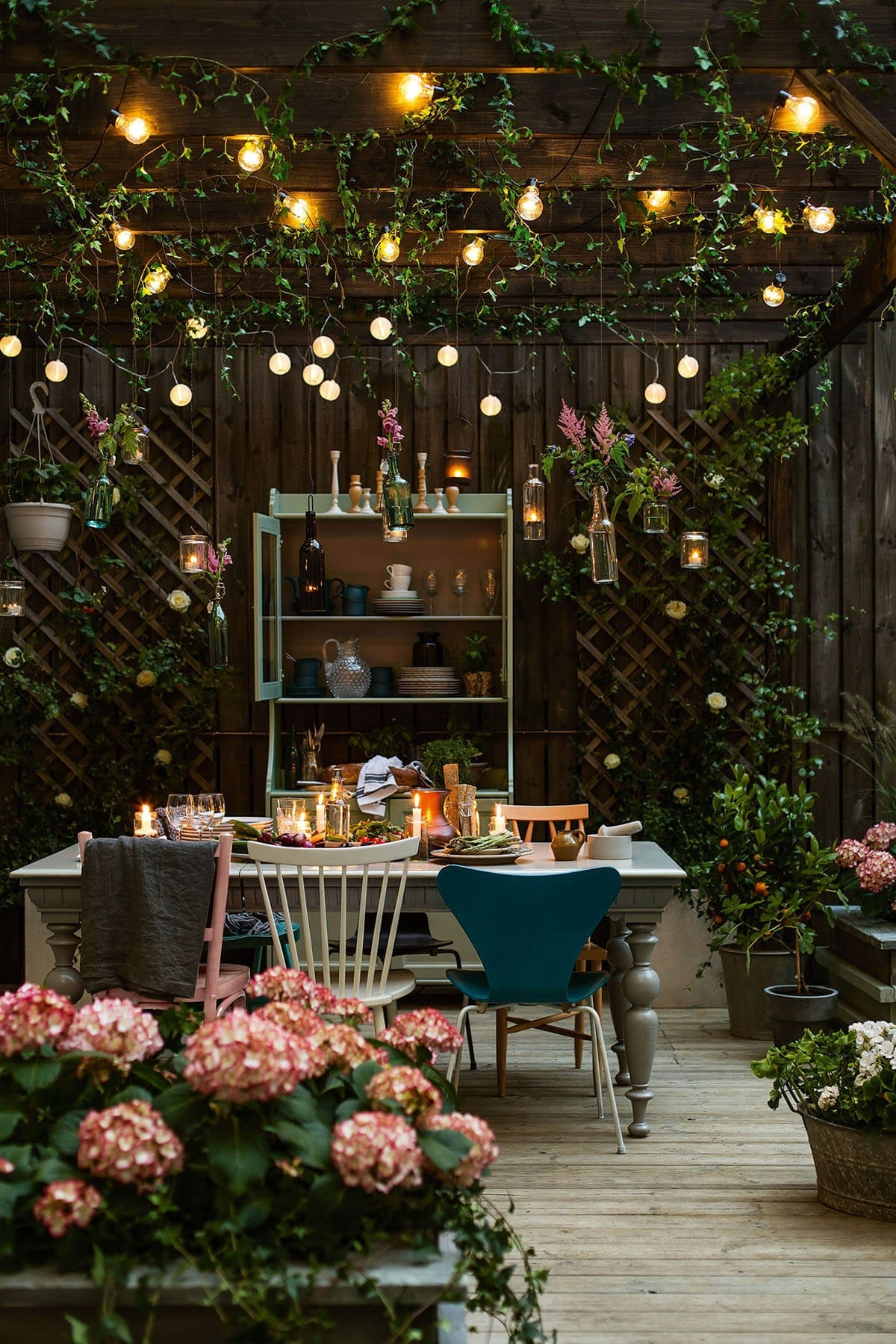 Most Up To Date Outdoor Hanging Garden Lights Within 27 Best Backyard Lighting Ideas And Designs For  (View 10 of 20)