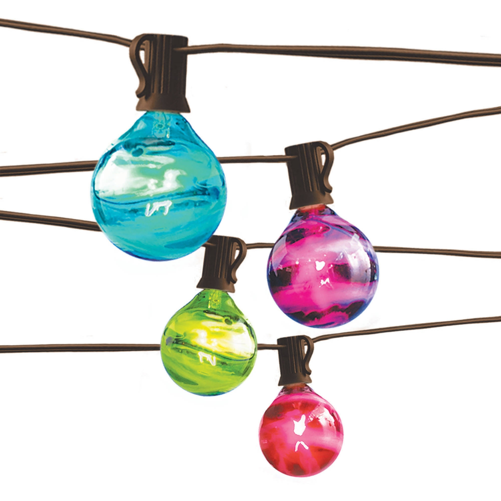 Most Up To Date Outdoor Hanging Lights At Walmart Regarding Better Homes And Gardens Outdoor Marble Globe String Light Set (View 11 of 20)