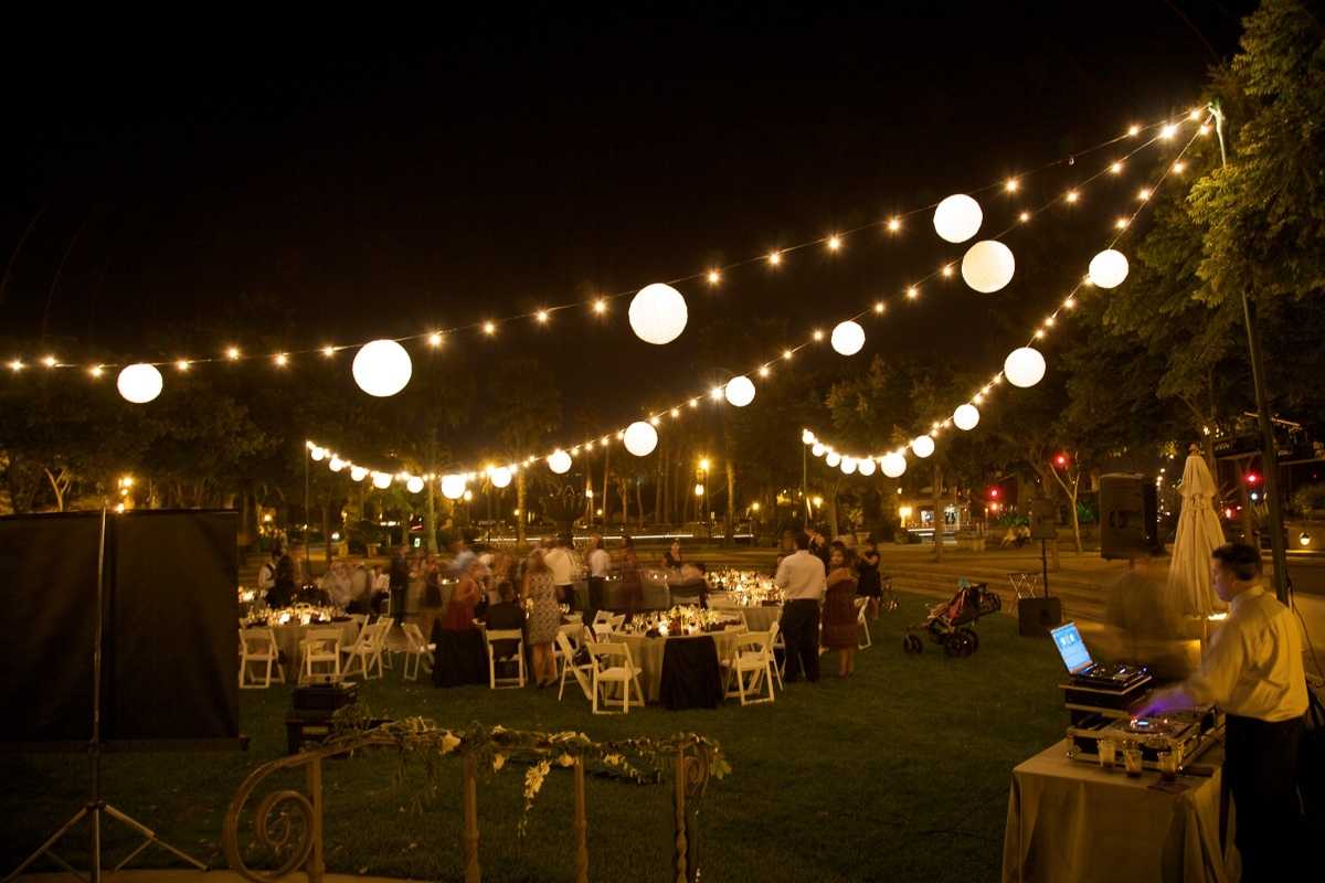 Most Up To Date Outdoor Hanging Party Lights Pertaining To String Lights Archives – Bella Vista Designs (View 12 of 20)