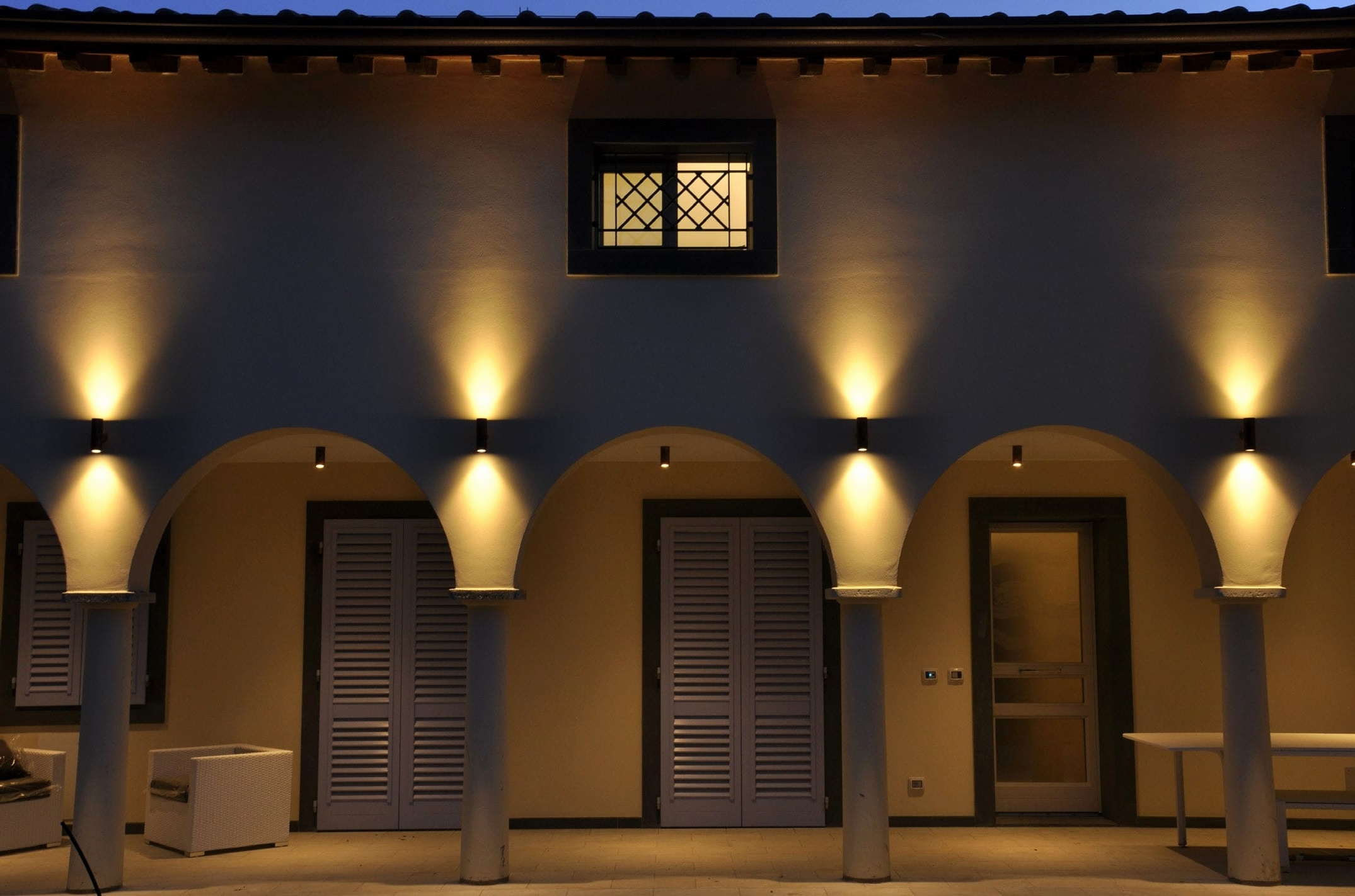 Most Up To Date Outside Wall Down Lights Pertaining To Outdoor : Outdoor Wall Mount Light Cabernet Swirl Sconce Led Lamps (View 12 of 20)