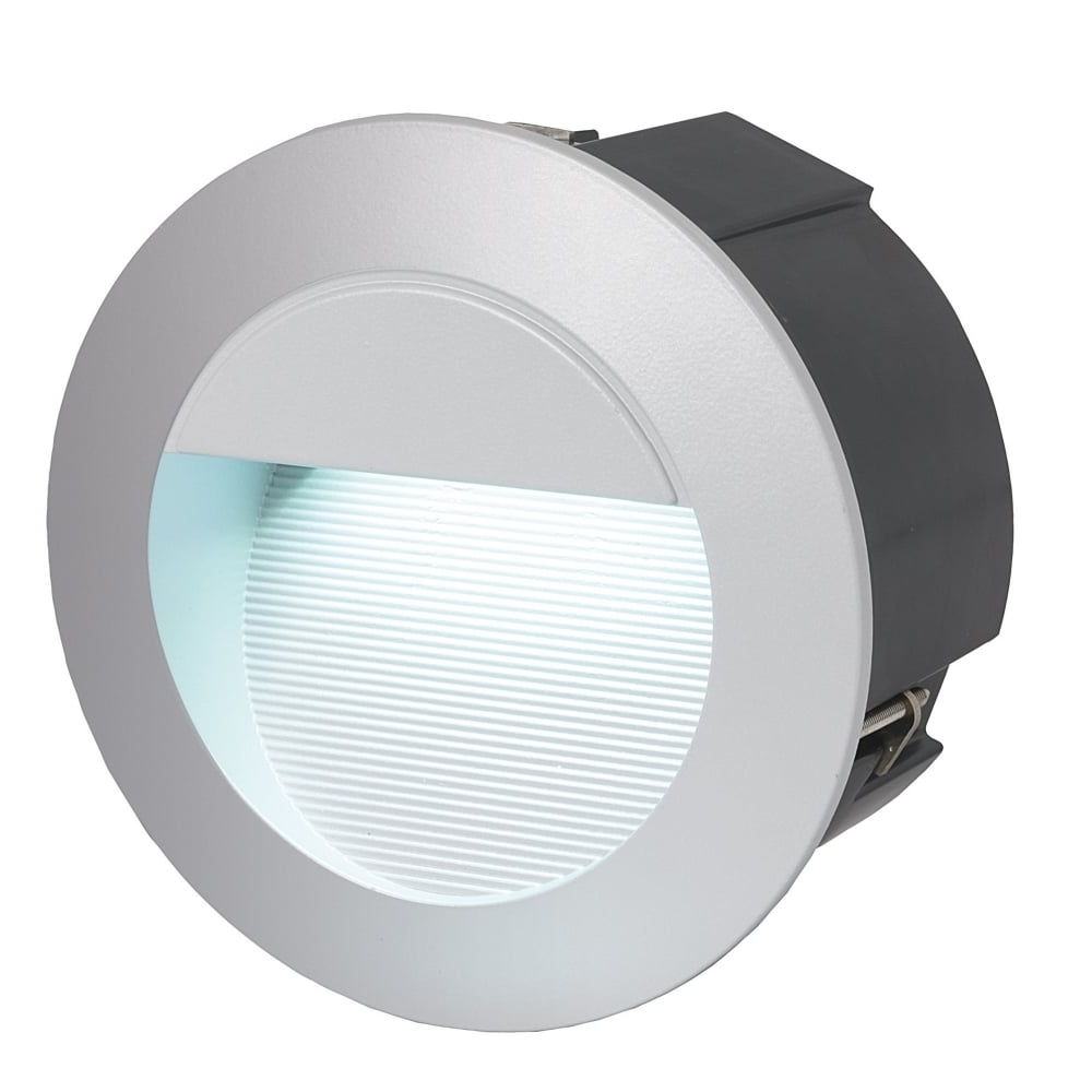 Most Up To Date Recessed Outdoor Wall Lighting Regarding Recessed Wall Lighting Exterior Led Round Recessed Wall Sconce (View 10 of 20)