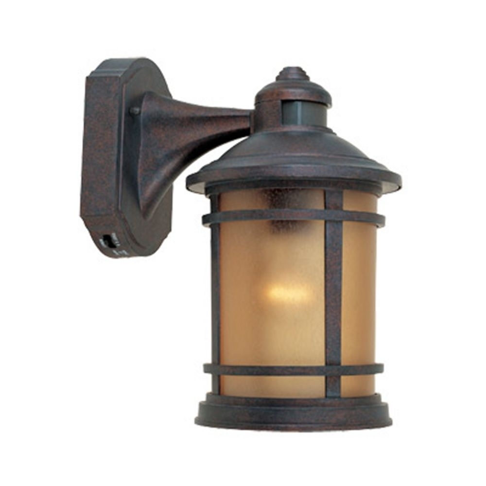 Motion Activated Outdoor Wall Light With Photocell Sensor (View 8 of 20)
