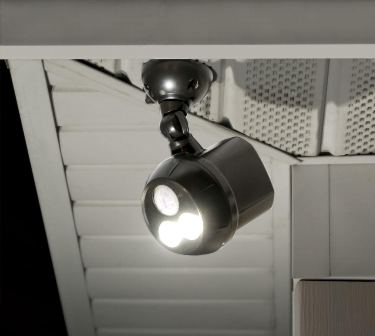Motion Sensor Outdoor Lights Battery • Outdoor Lighting Regarding Most Recently Released Outdoor Ceiling Security Lights (View 10 of 20)