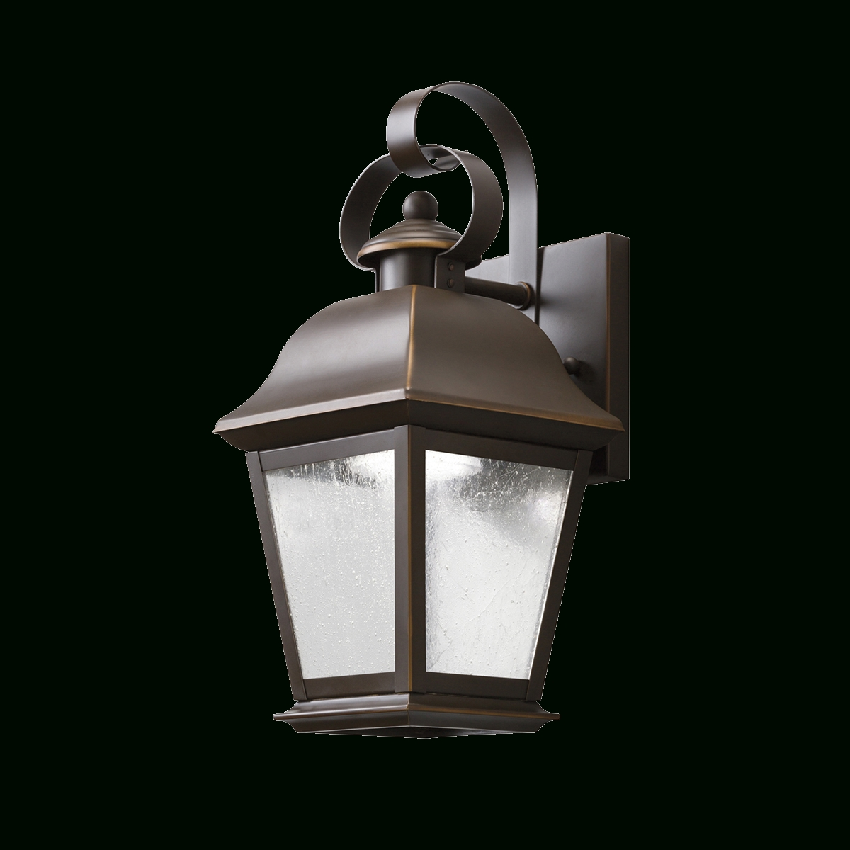 Mount Vernon Outdoor Led Wall 1 Light Oz In Recent Kichler Lighting Outdoor Wall Lanterns (View 7 of 20)