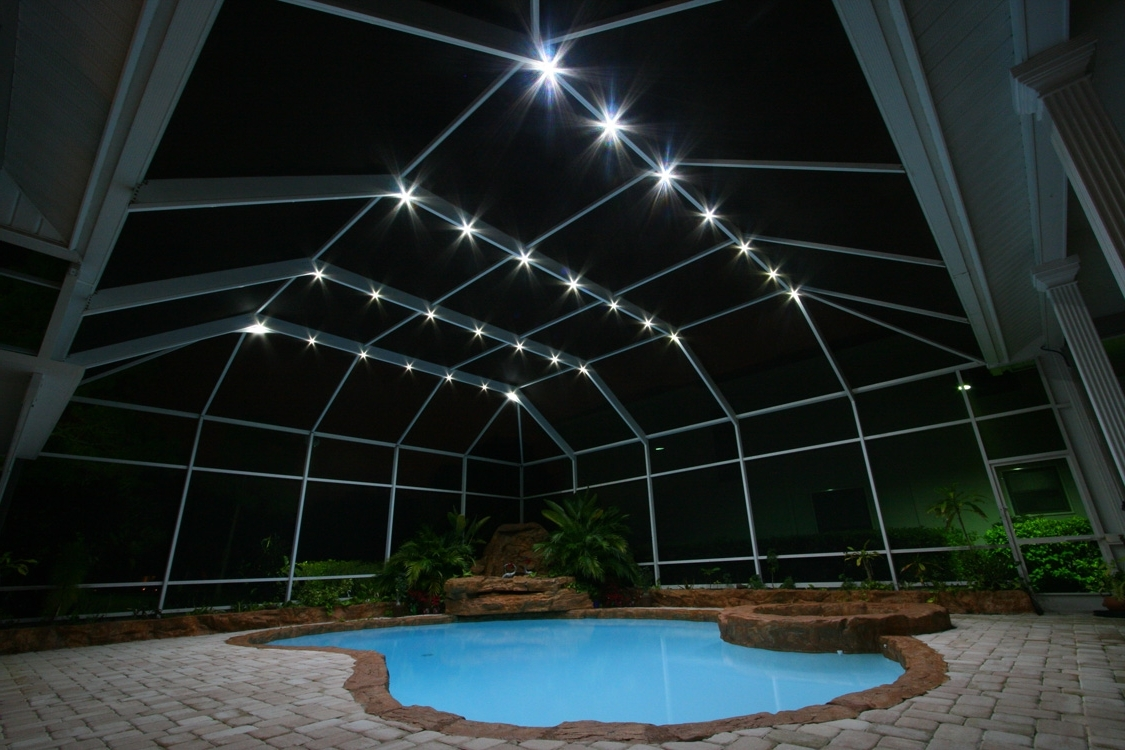 Nebula Lighting Systems – Rail Light System Regarding Most Recently Released Outdoor Hanging Pool Lights (Gallery 20 of 20)