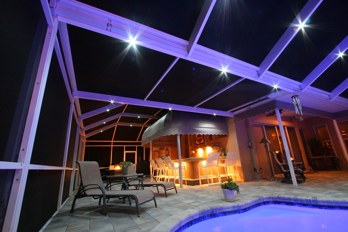 Nebula Lighting Systems – Rail Light System With Newest Outdoor Hanging Pool Lights (Gallery 18 of 20)
