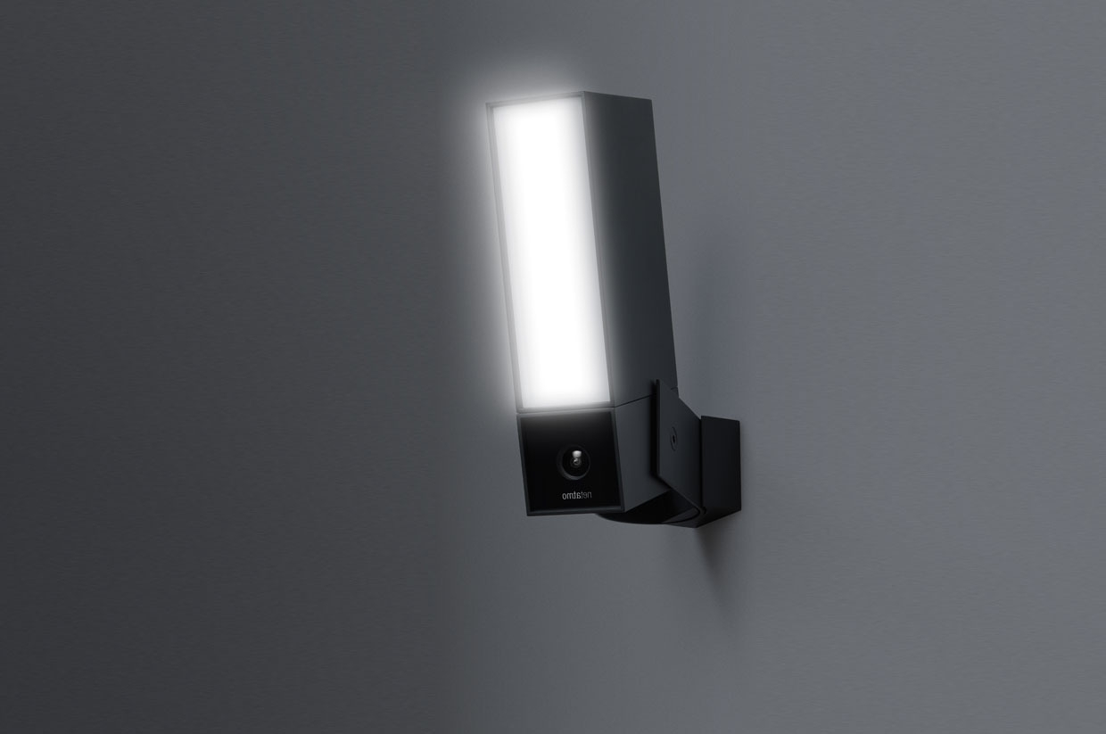 Netatmo Presence Is A Home Security Camera/outdoor Floodlight Mashup Intended For Well Known Outdoor Wall Lights With Security Camera (View 10 of 20)