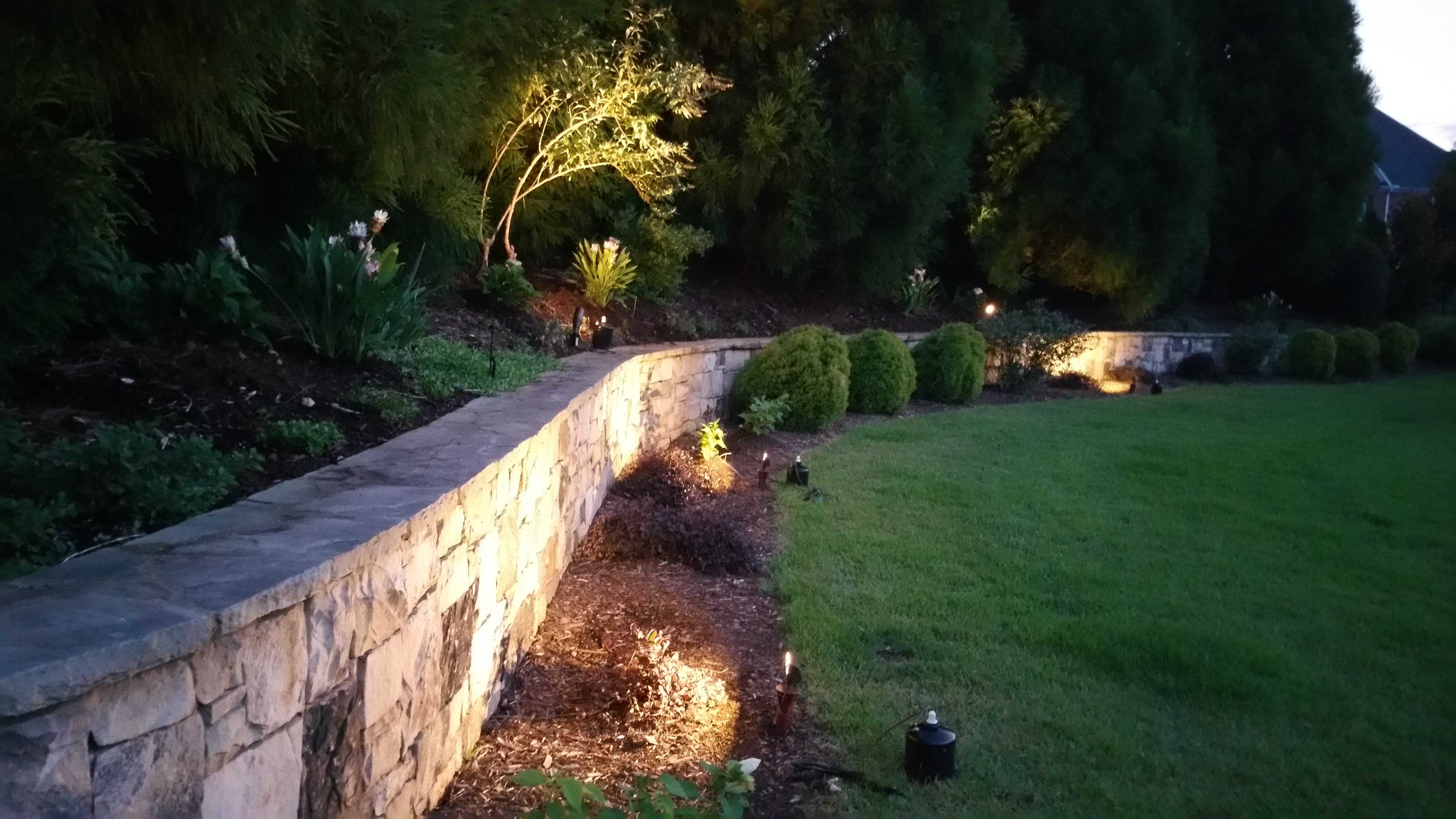 Newest Complimentary Outdoor Lighting Night Demonstration In Seattle With Outdoor Retaining Wall Lighting (View 12 of 20)