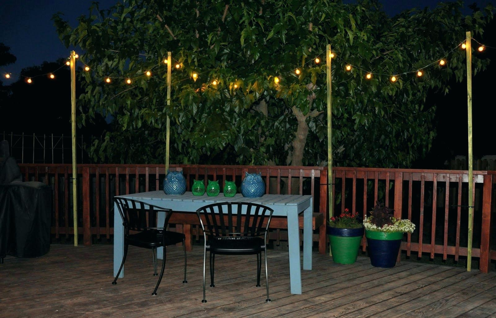 Newest Diy : Outdoor Light Strings Costco Canada Australia Hanging Lights Within Hanging Lights In Outdoor Trees (View 18 of 20)