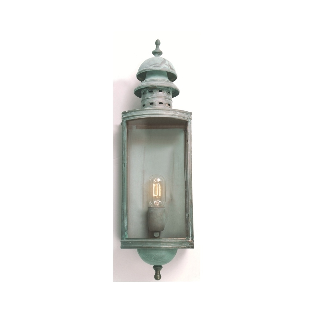 Newest Elstead Lighting Downing Street Outside Verdigris Wall Lantern With Regard To Verdigris Outdoor Wall Lighting (View 11 of 20)