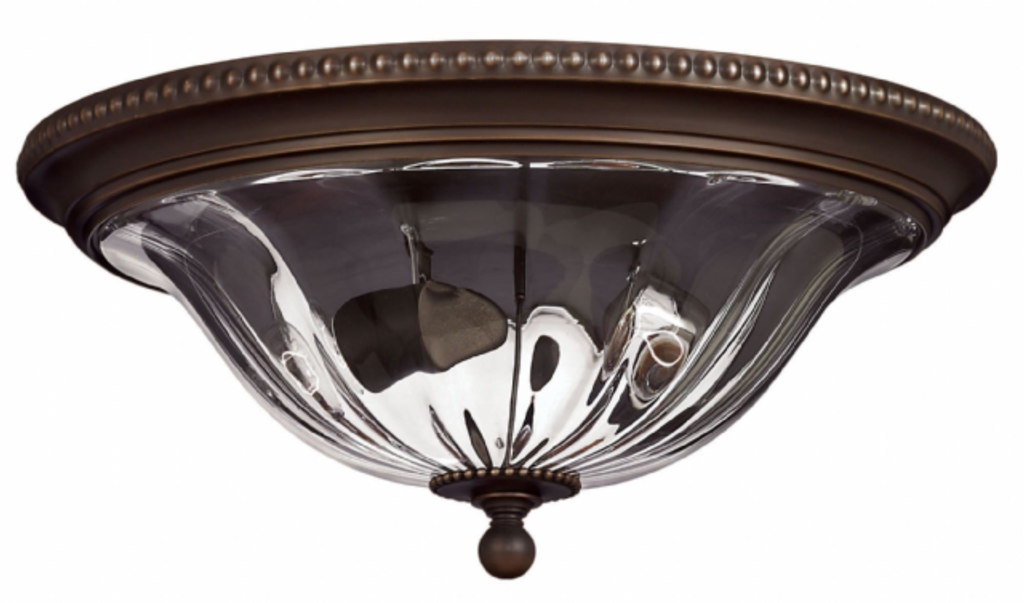 Newest Flush Mount Hinkley Lighting Inside Olde Bronze Cambridge > Interior Ceiling Mount (View 6 of 20)