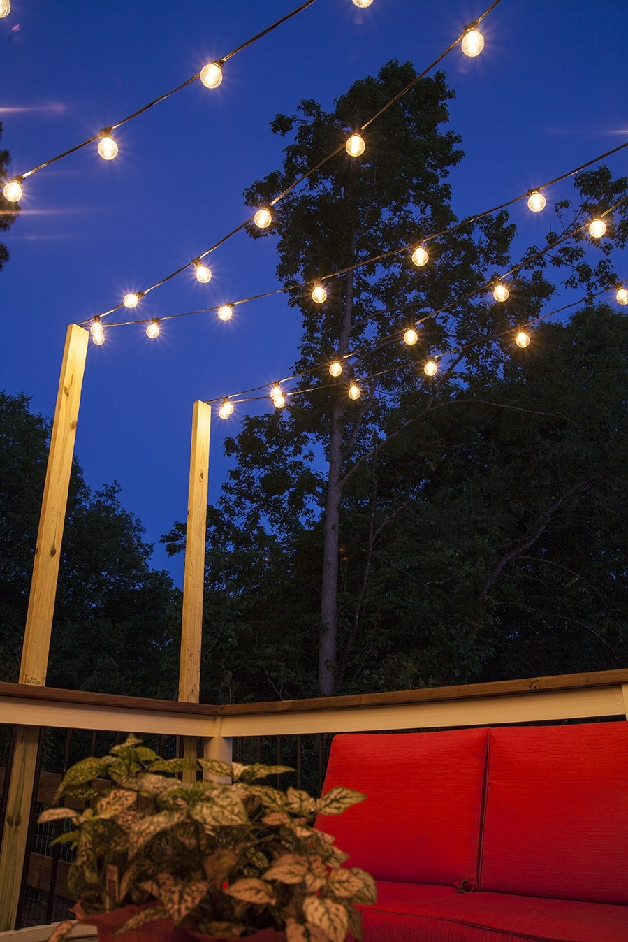 Newest Hanging Outdoor Solar Stringts Patio Backyard Home Depot Garden How For Hanging Outdoor String Lights At Target (Gallery 8 of 20)