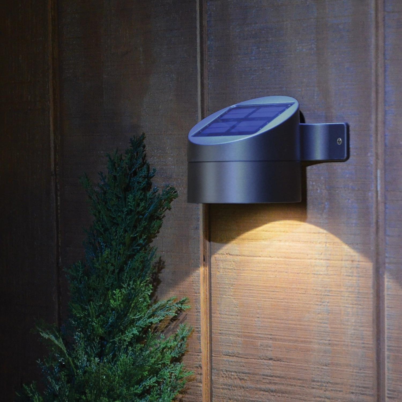Newest Light : Home Accessories Stuff Solar Wall Mount Outdoor Lights Regarding Modern Led Solar Garden Lighting Fixture (View 1 of 20)