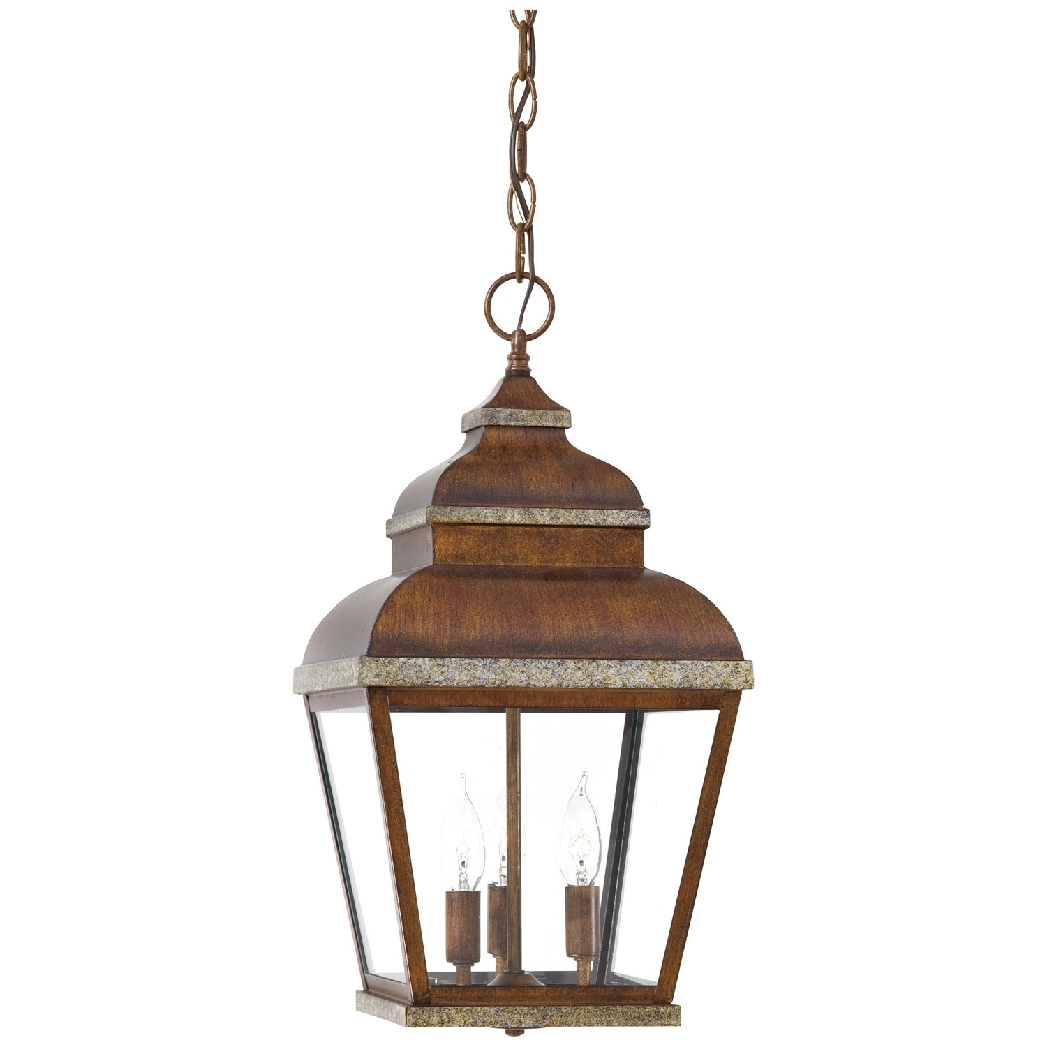 Newest Metal Outdoor Hanging Lights Within Mossoro Outdoor Hanging Lantern Minka Lavery Outdoor Pendants (View 12 of 20)