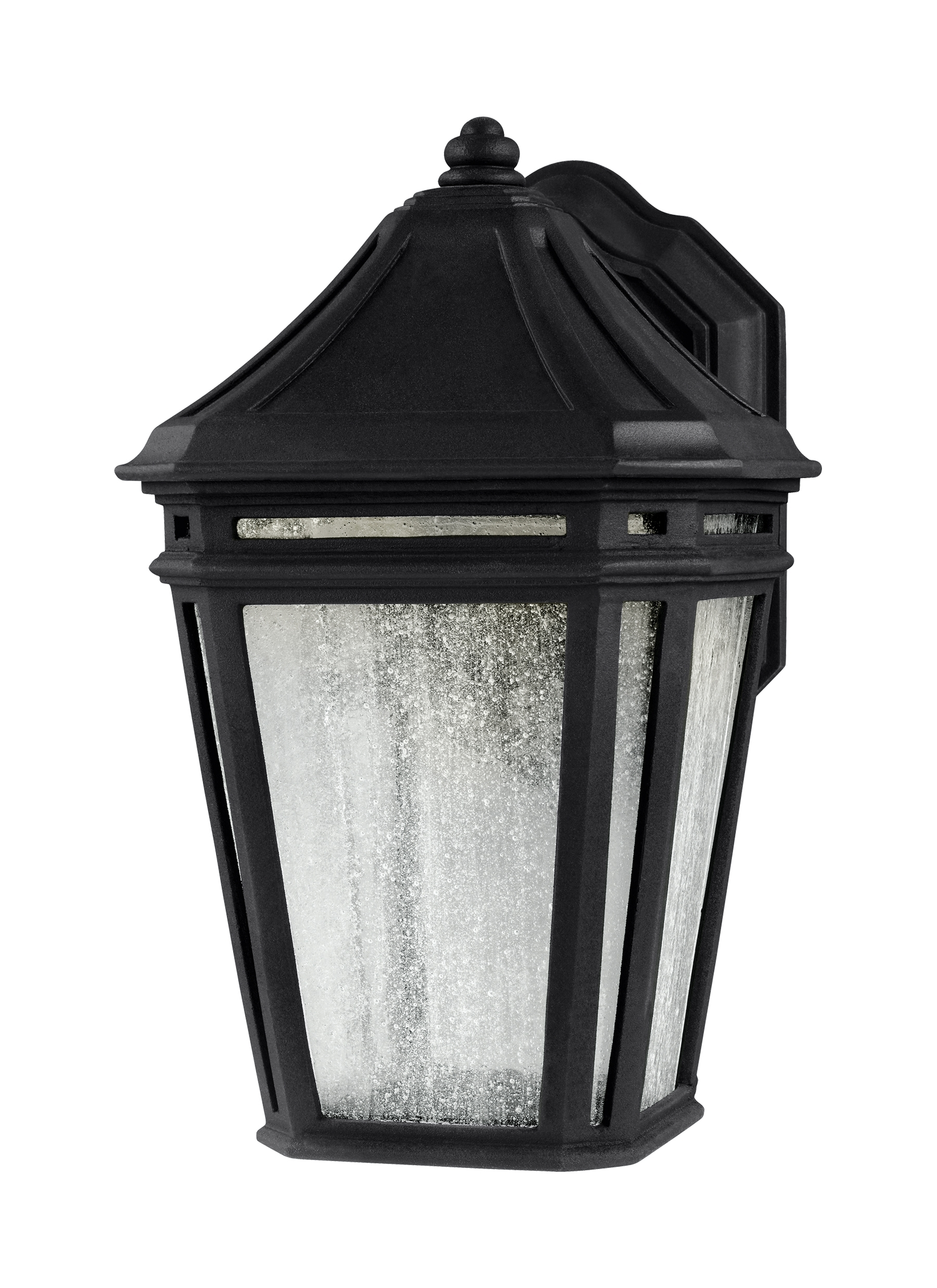 Newest Ol11302Bk Led,led Outdoor Sconce,black In Outdoor Wall Lighting At Wayfair (Gallery 8 of 20)