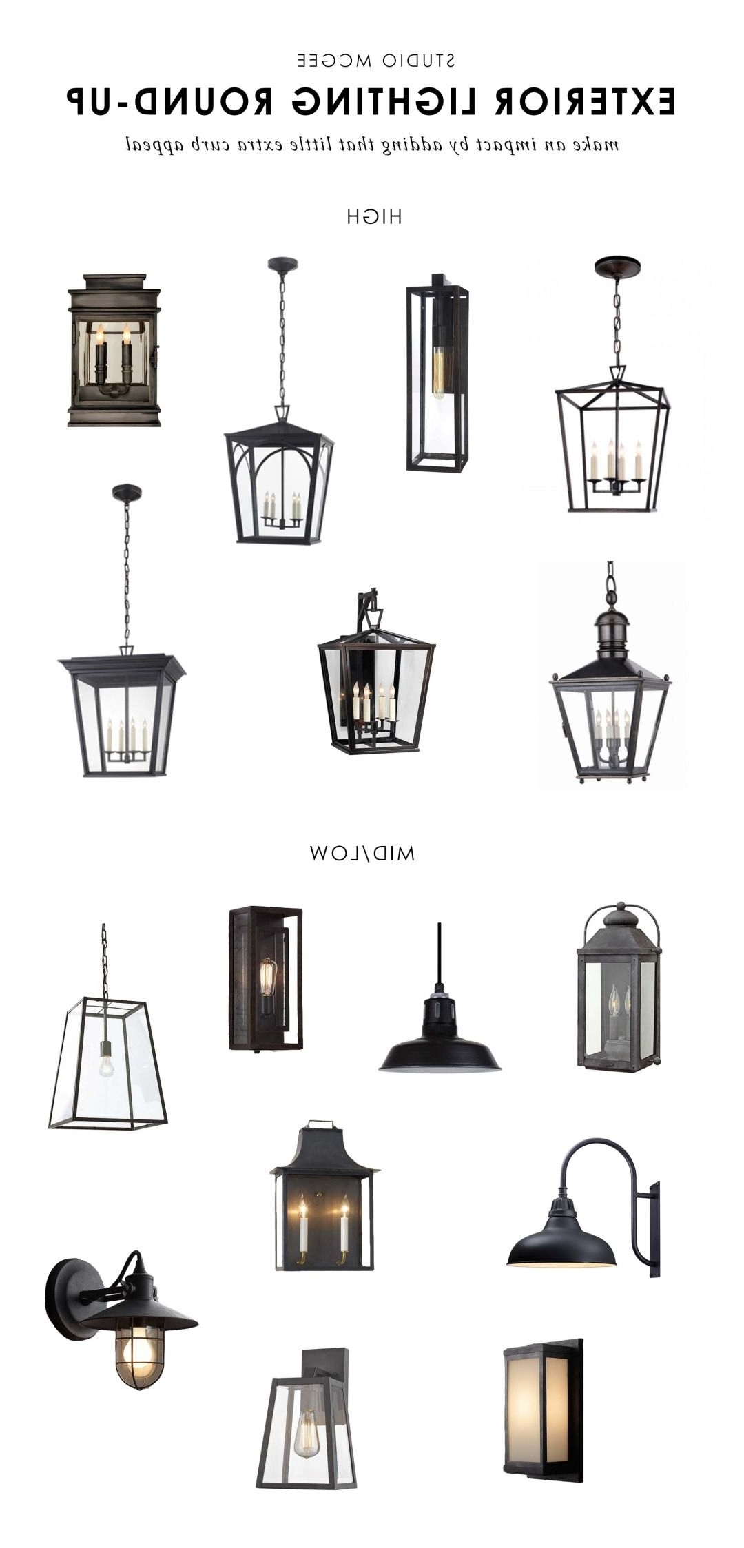 Newest Our Top Picks: Exterior Lighting (View 16 of 20)