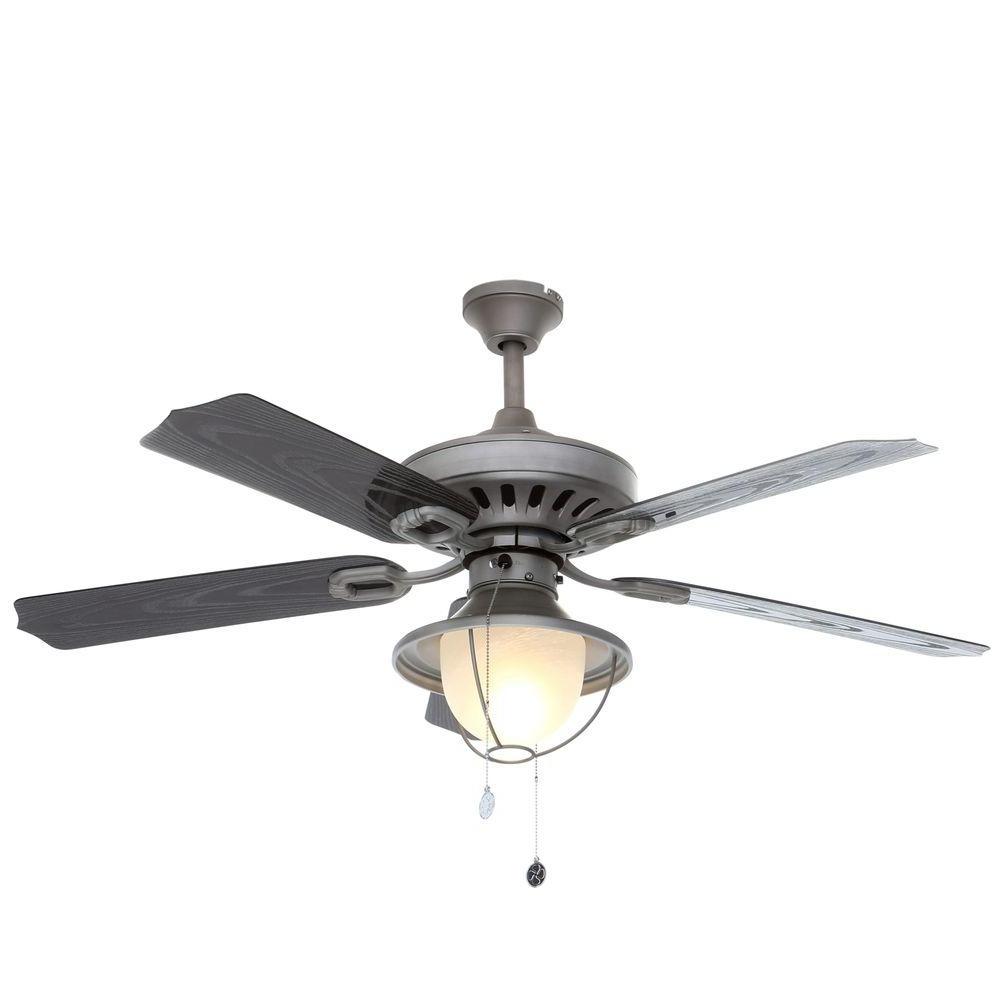 Newest Outdoor Ceiling Fans With Copper Lights With Regard To Westinghouse Lafayette 52 In (View 7 of 20)