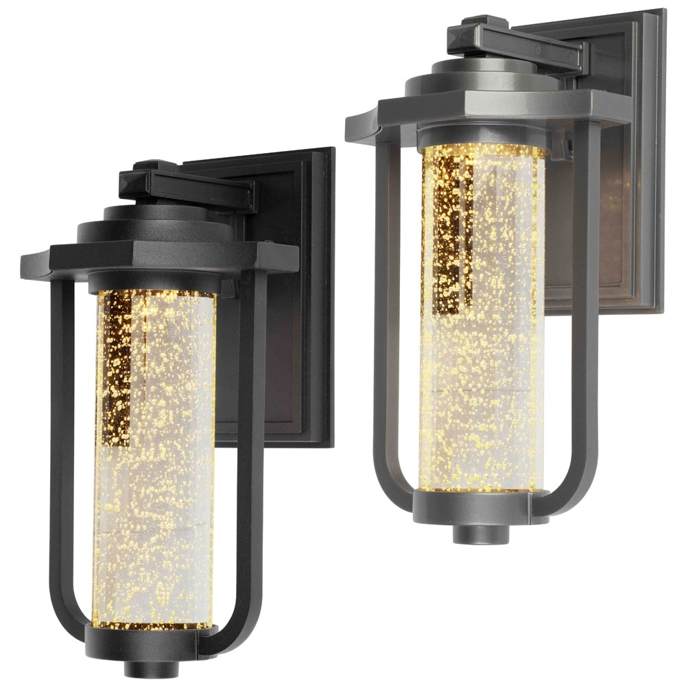 "Newest Outdoor Ceiling Lights With Photocell Throughout Artcraft Ac9012 North Star Traditional 8"" Wide Led Exterior Wall (View 11 of 20)"