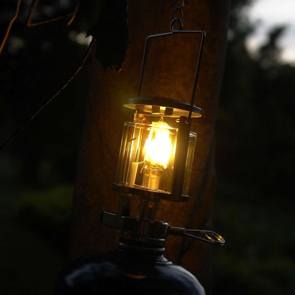 Newest Outdoor Hanging Camping Lights For New Arriavl Mini Gas Lamp Outdoor Camping Light Gas Lighting Camping (View 18 of 20)