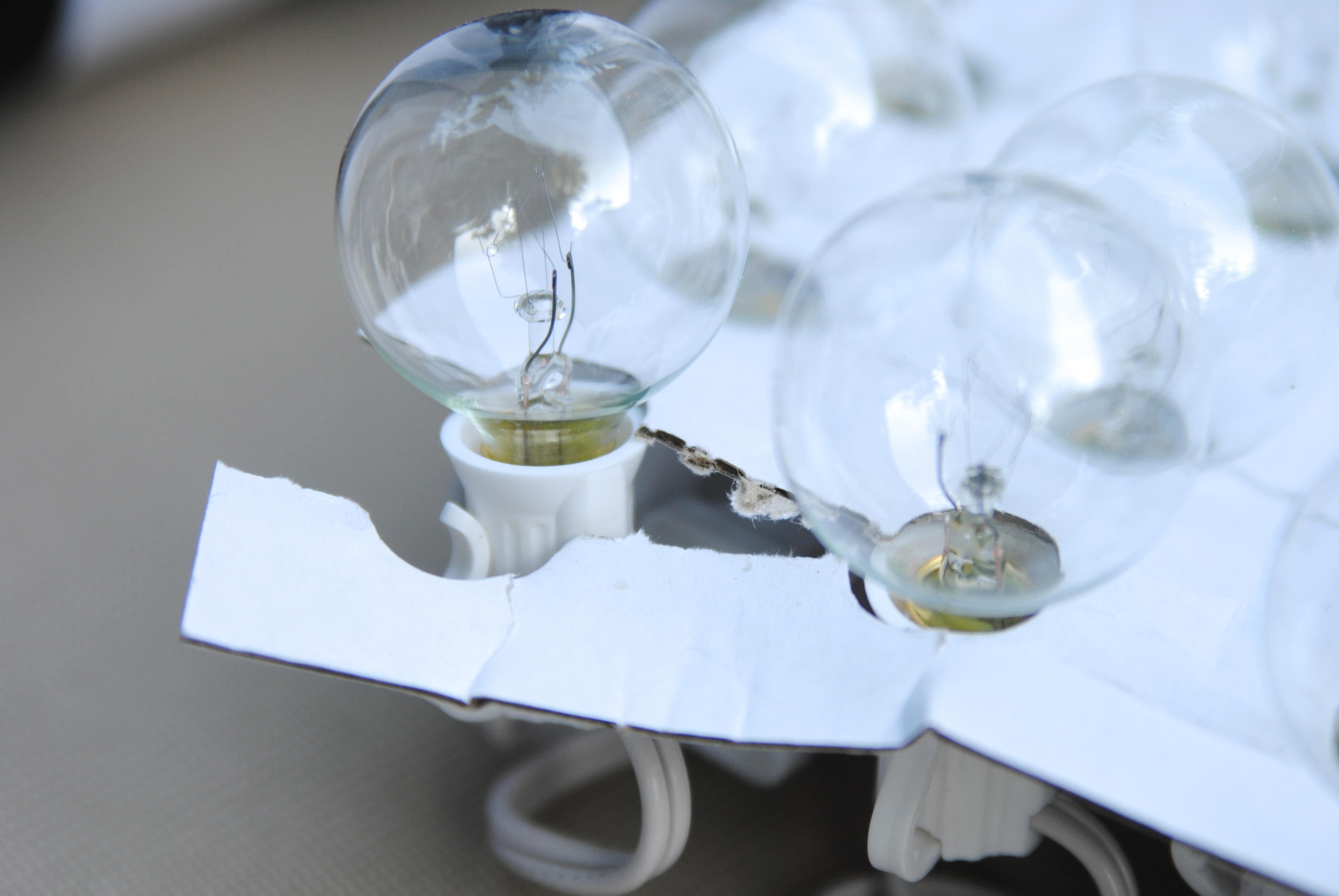 Newest Outdoor Hanging Deck Lights With How To Hang Outdoor String Lights (the Deck Diaries, Part (View 13 of 20)