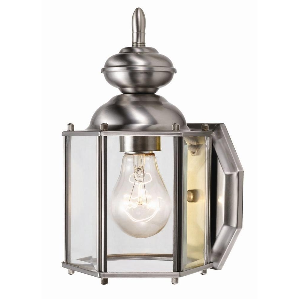 Newest Outdoor Sconces – Rust Resistant – Outdoor Wall Mounted Lighting Within Nickel Polished Outdoor Wall Lighting (View 18 of 20)