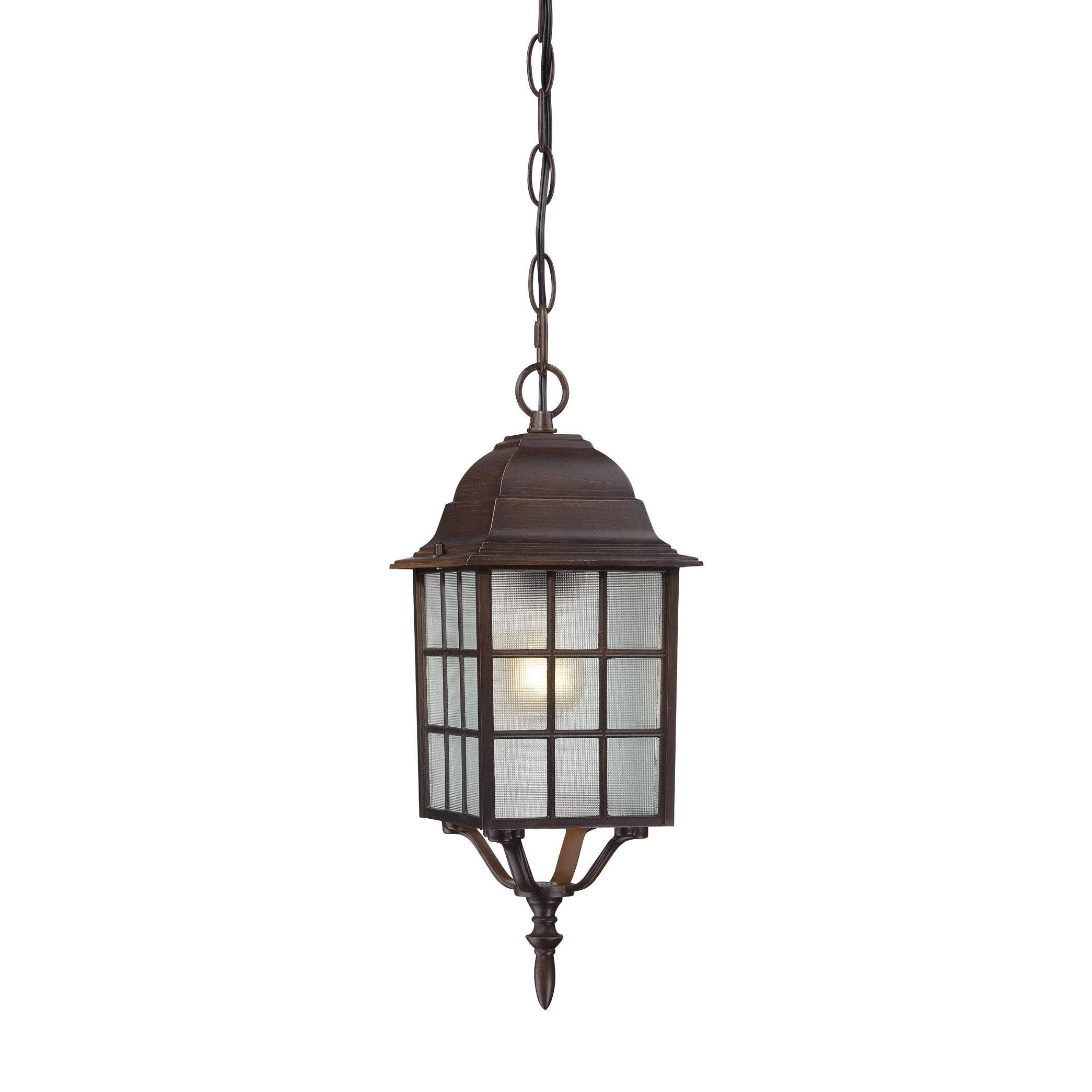 Newest Rustic Outdoor Hanging Lights With Lighting : Lighting Incredible Rustic Outdoor Pendant Images (View 15 of 20)