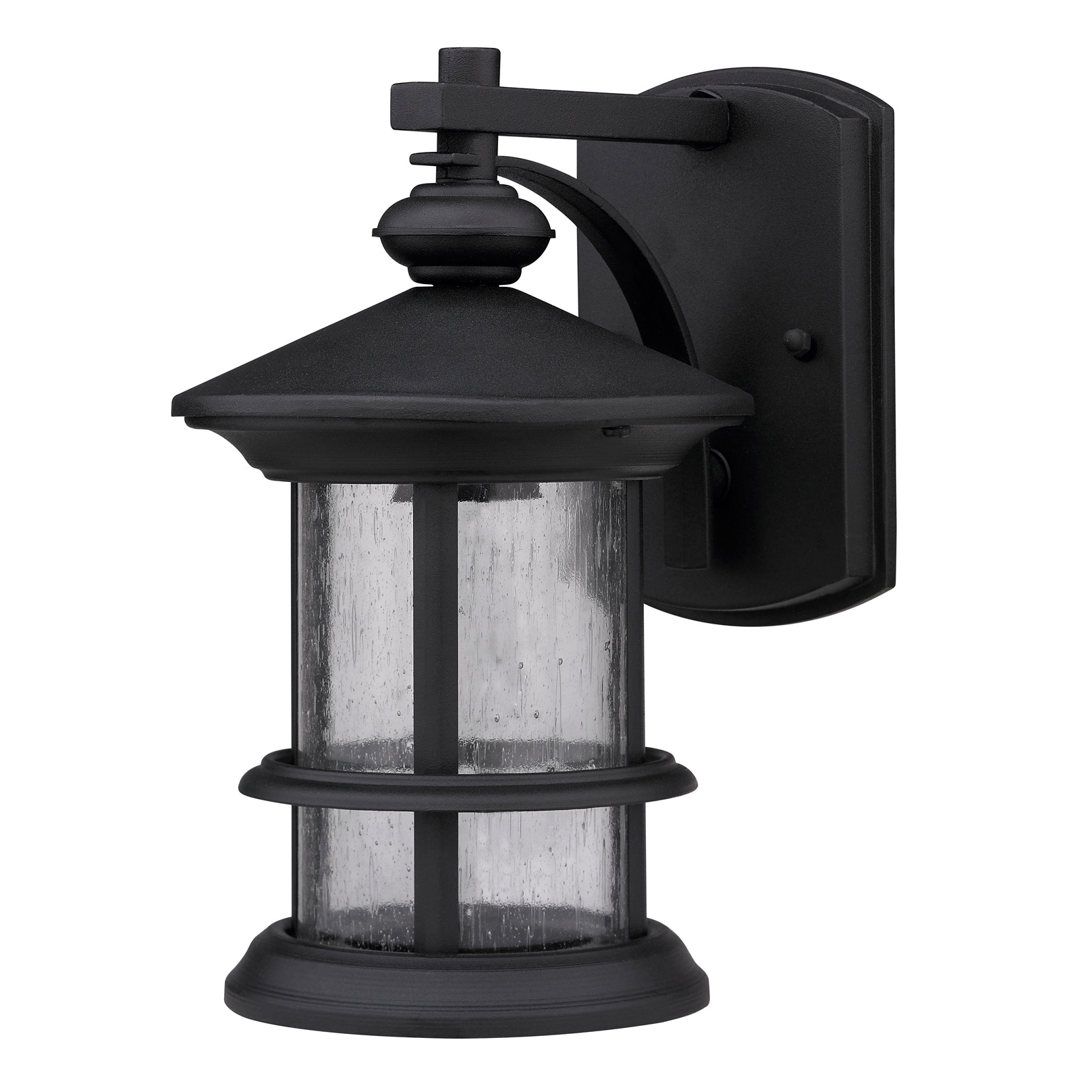 Newest Transitional Black One Light Weatherproof Outdoor Wall Fixture Pertaining To Transitional Outdoor Wall Lighting (View 3 of 20)