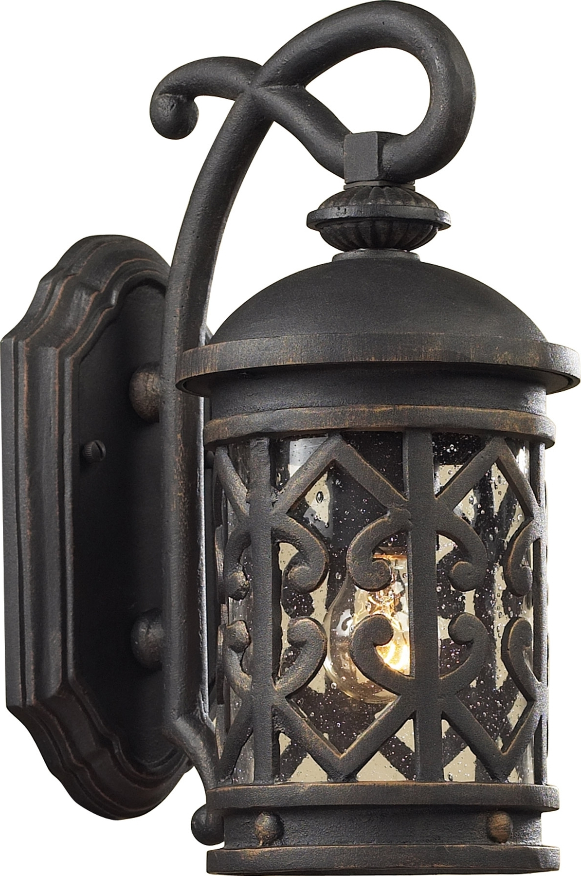 Newest Tuscan Outdoor Wall Lighting Inside Lighting 42060/1 Tuscany Coast Exterior Wall Sconce (View 8 of 20)