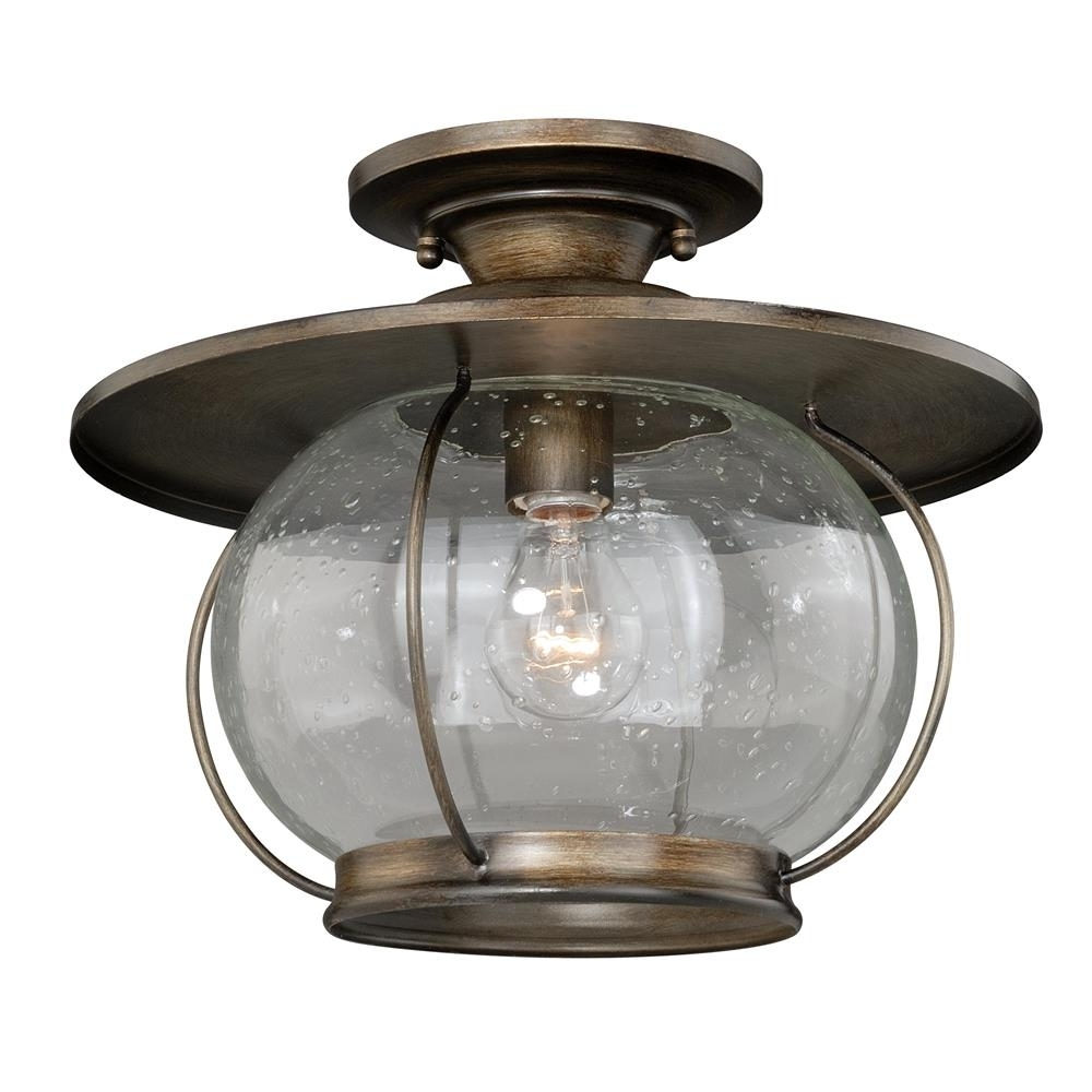 Newest Vaxcel Lighting Outdoor Flush / Semi Flush Mount Ceiling Lighting Regarding Outdoor Semi Flush Ceiling Lights (View 7 of 20)