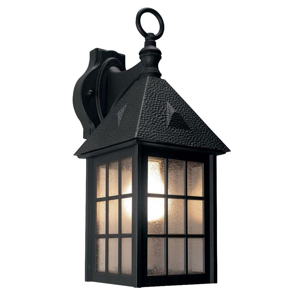 Newport Coastal Belmont Black Outdoor Wall Mount Lantern 7972 01B Regarding Widely Used Outdoor Wall Lights For Coastal Areas (View 11 of 20)