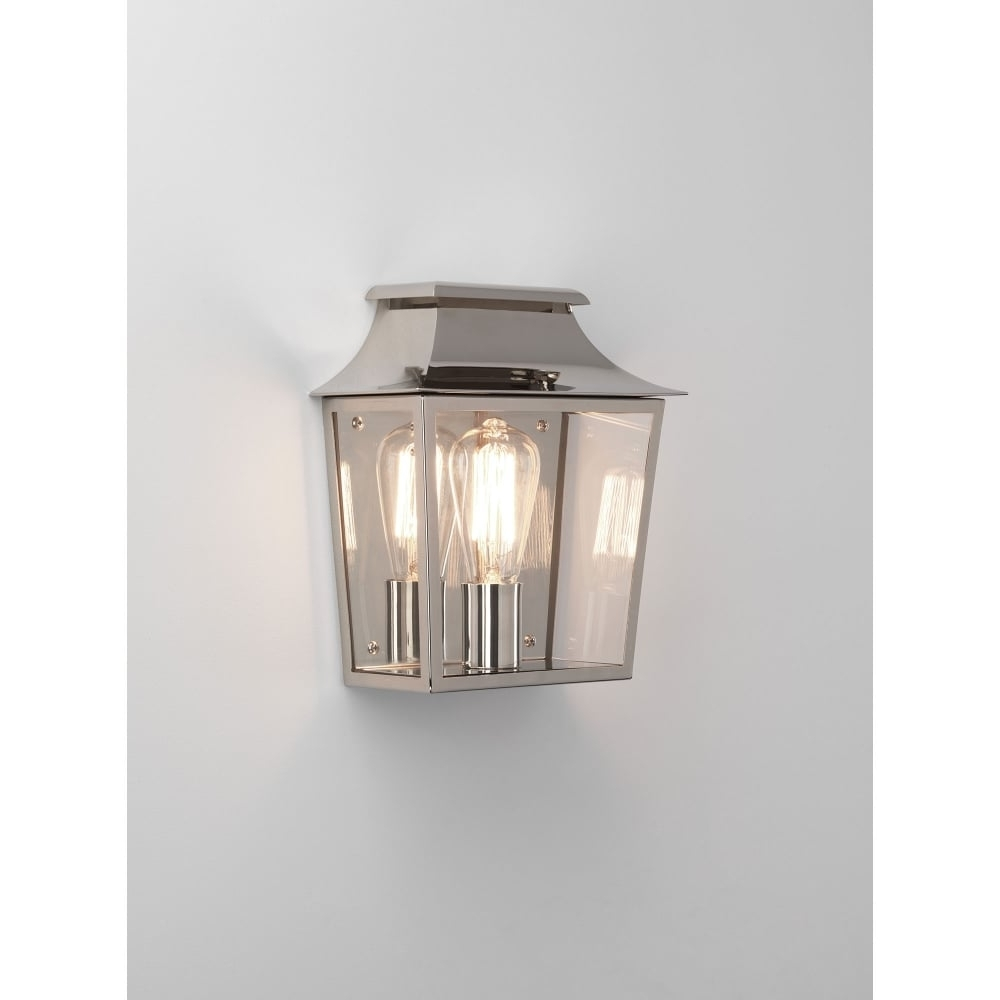 Nickel Polished Outdoor Wall Lighting With 2019 Astro Lighting Richmond 235 Single Light Outdoor Wall Fitting In (View 4 of 20)