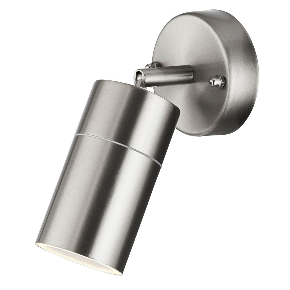 Northern Ireland Outdoor Wall Lights Within Latest 6411Ss Led Outdoor & Porch Directional Single Wall Light (View 14 of 20)