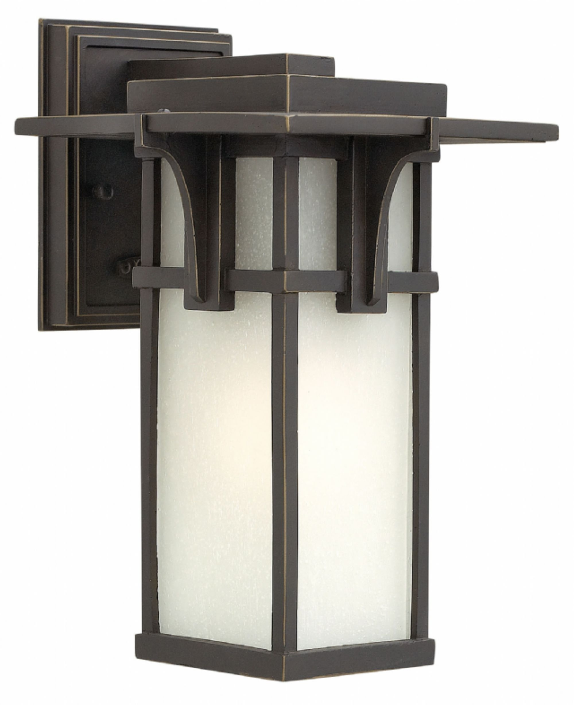 Oil Rubbed Bronze Manhattan > Exterior Wall Mount In Trendy Large Wall Mount Hinkley Lighting (View 8 of 20)