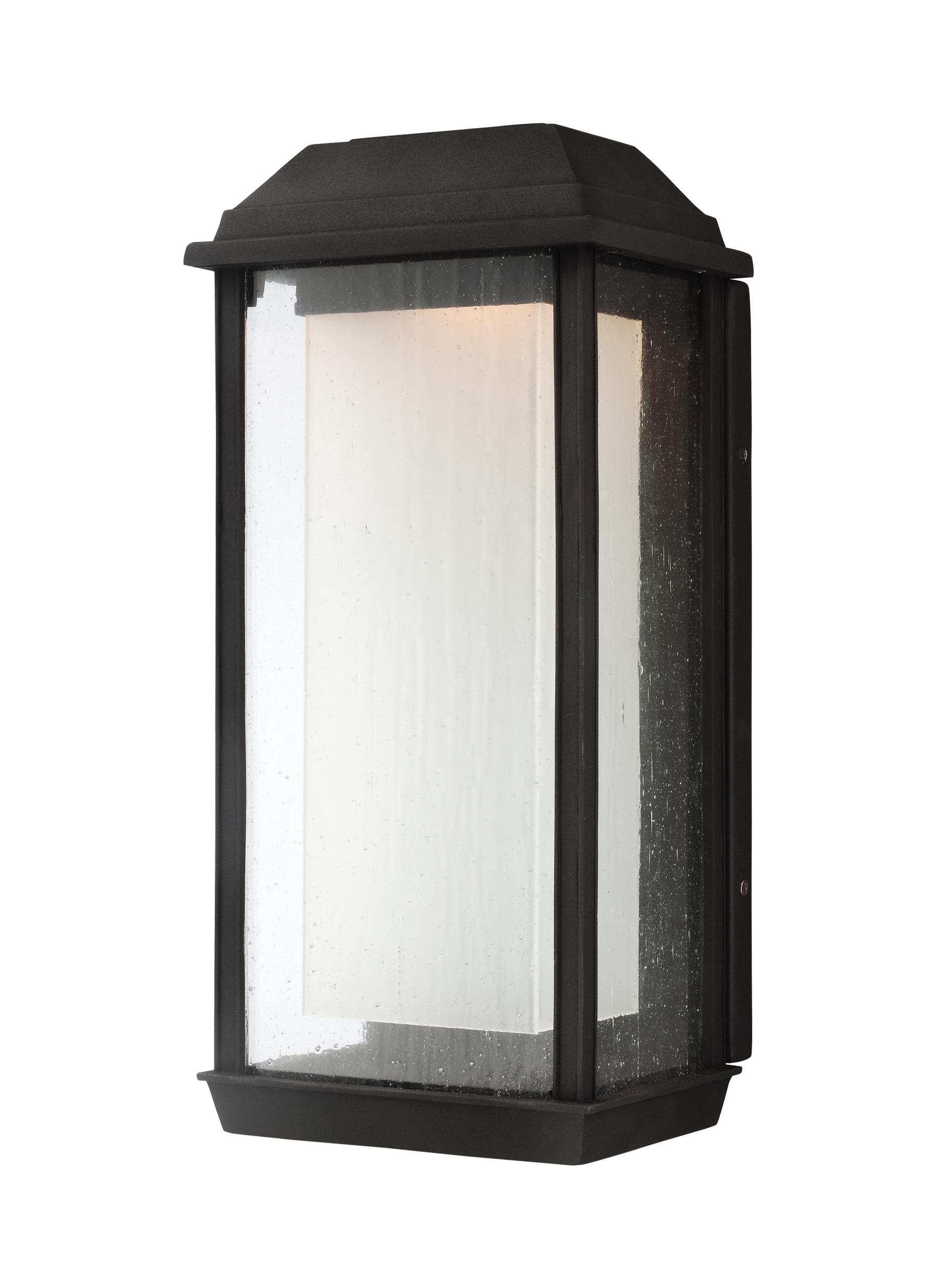 Ol12802Txb Led,1 – Light Outdoor Led Wall Lantern,textured Black Within Famous Transitional Outdoor Wall Lighting (View 6 of 20)