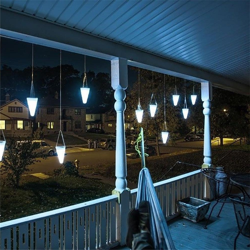 Online Cheap Wholesale Solar Led Hanging Lights Color Changing Pertaining To Well Known Outdoor Hanging Decorative Lights (View 8 of 20)