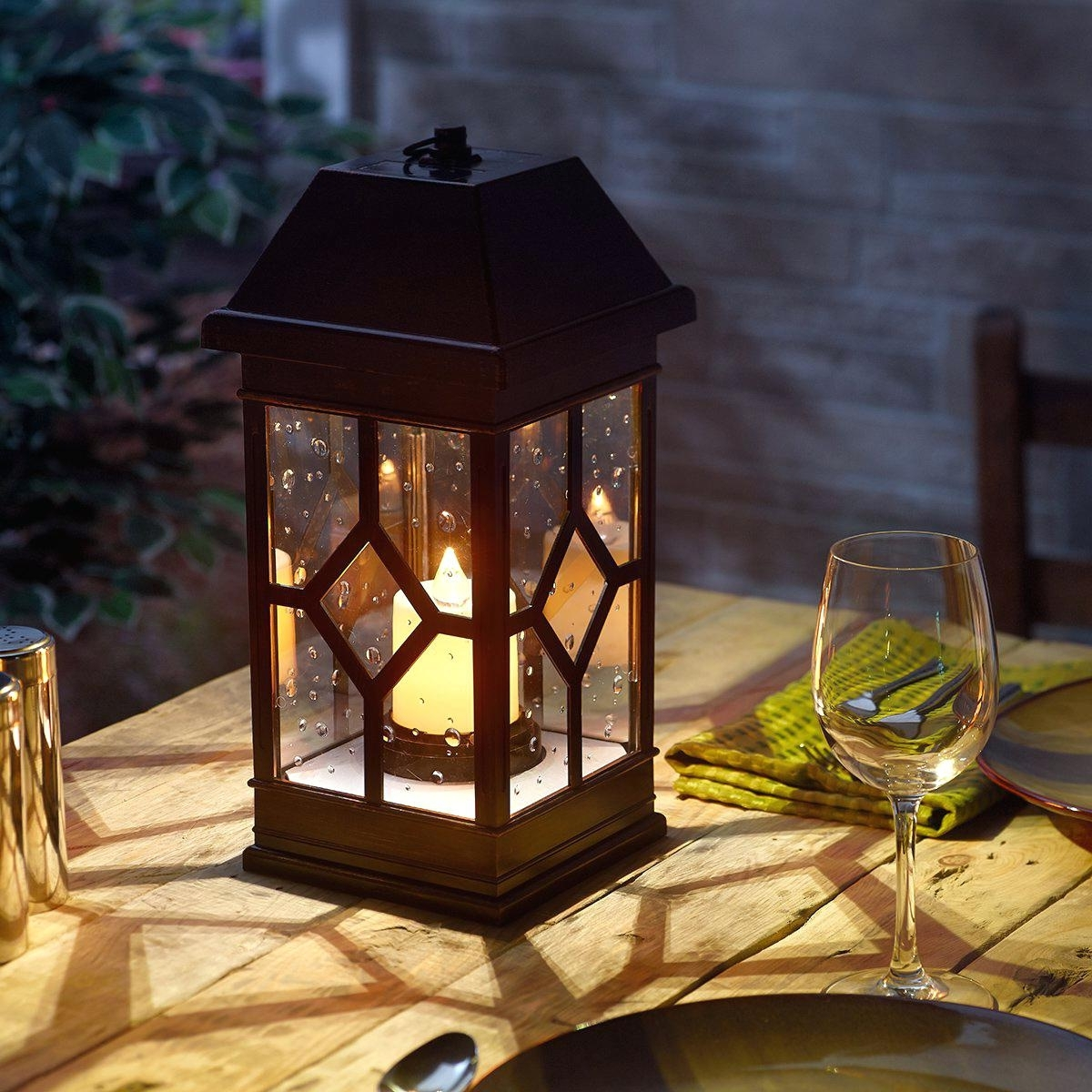 Outdoor And Garden String Lights At Wayfair Pertaining To Latest Outdoor Candle Lanterns For Patio Uk – Outdoor Designs (View 11 of 20)