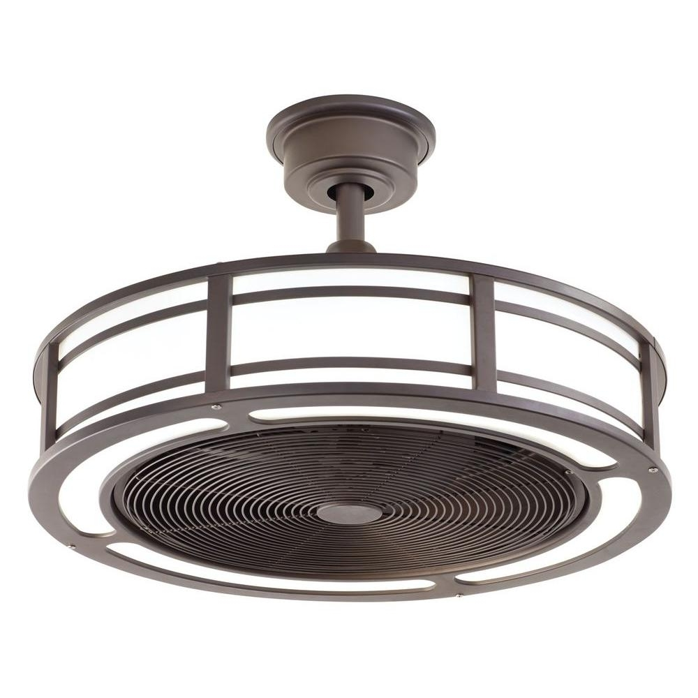 Outdoor Ceiling Fans With Copper Lights For 2019 Home Decorators Collection Brette 23 In (View 8 of 20)