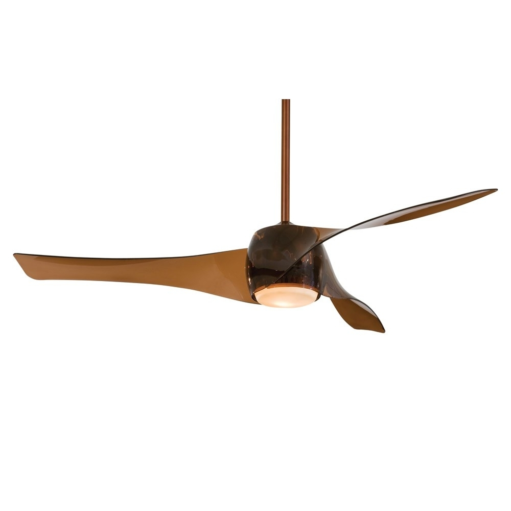 Outdoor Ceiling Fans With Copper Lights In Favorite Artemis Ceiling Fanminka Aire – 58 Inch Fan In Copper Bronze Finish (View 10 of 20)